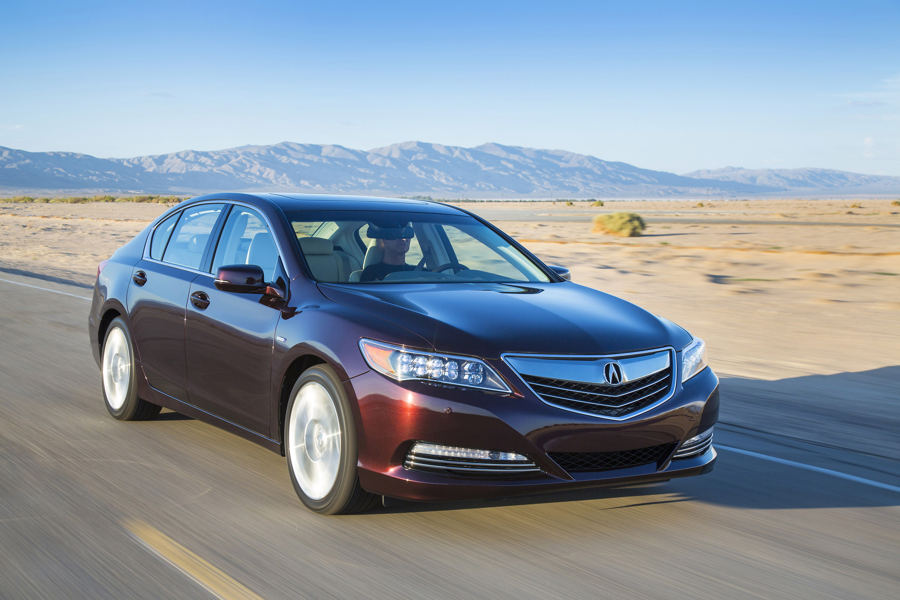 Acura RLX Sport Hybrid 4k specifications