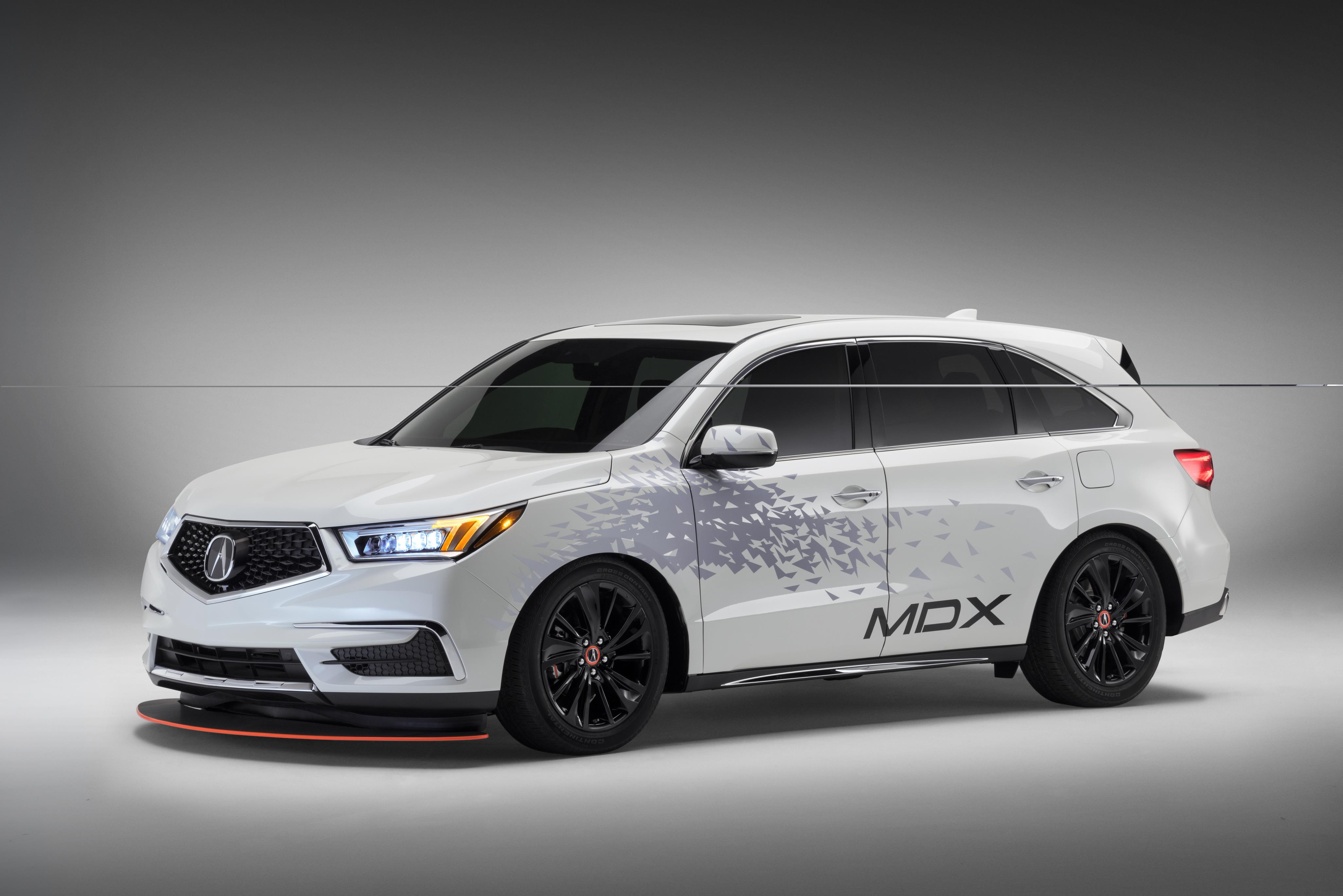 Acura MDX suv specifications