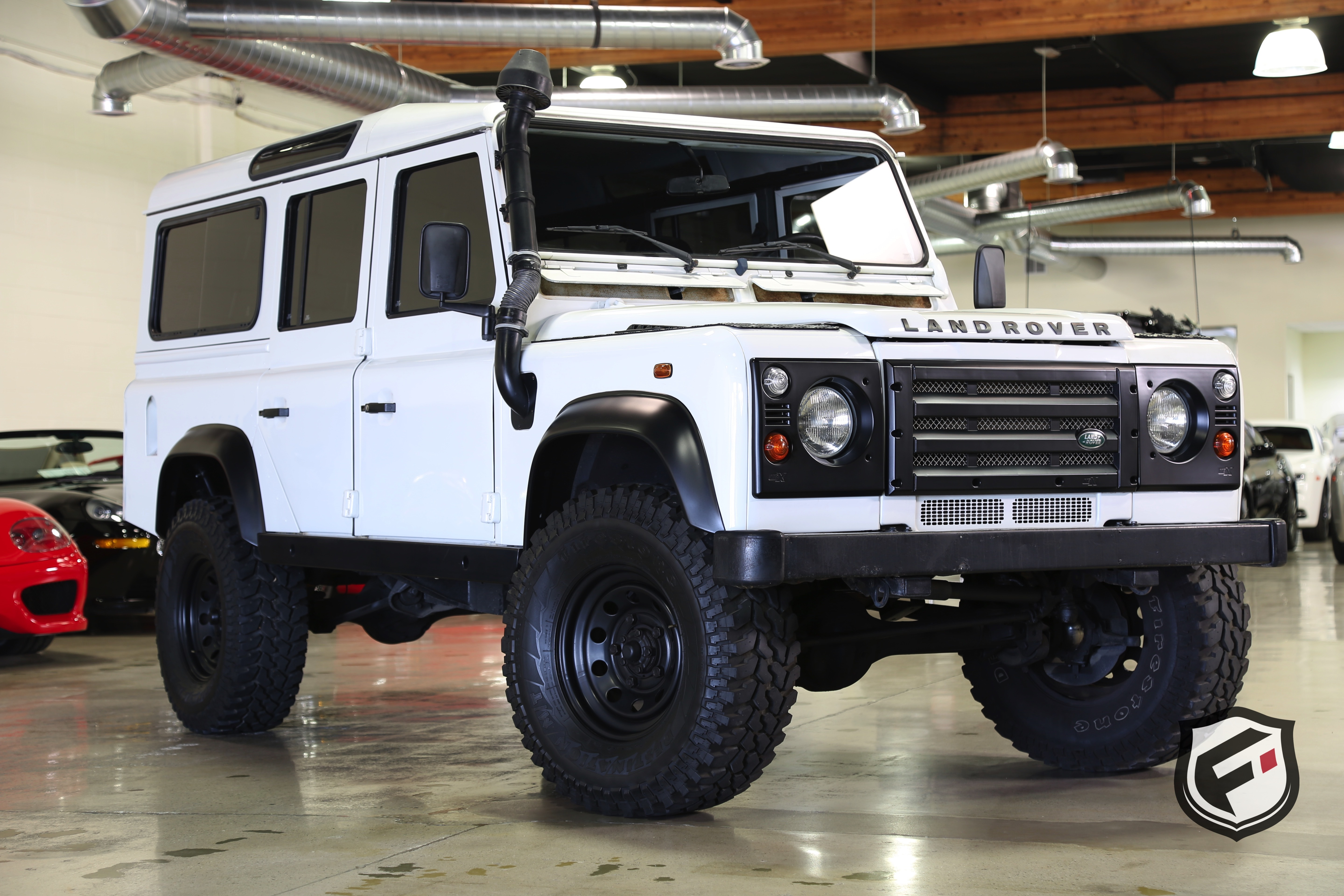 Land Rover Defender 110 accessories restyling