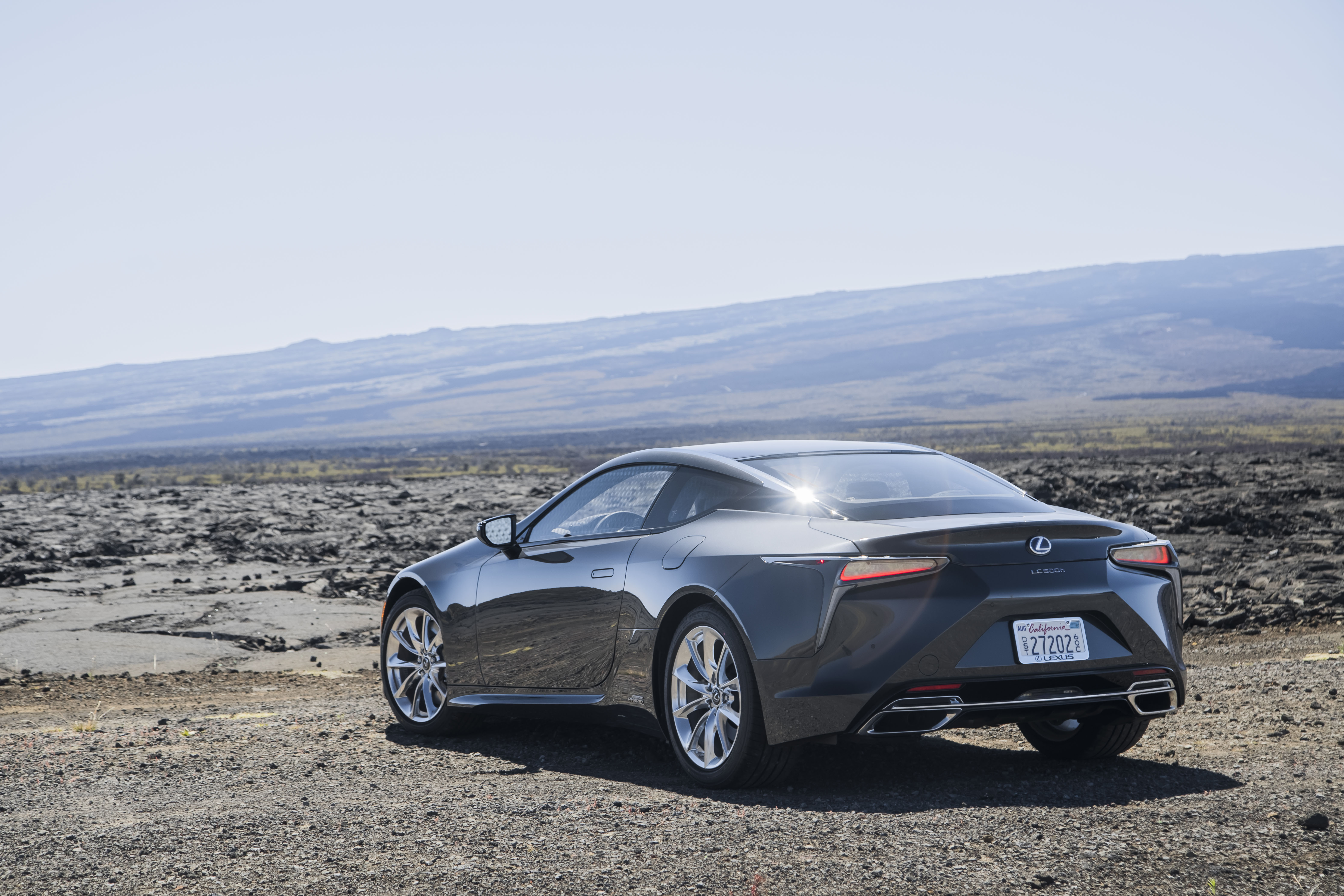 Lexus LC 500h accessories model