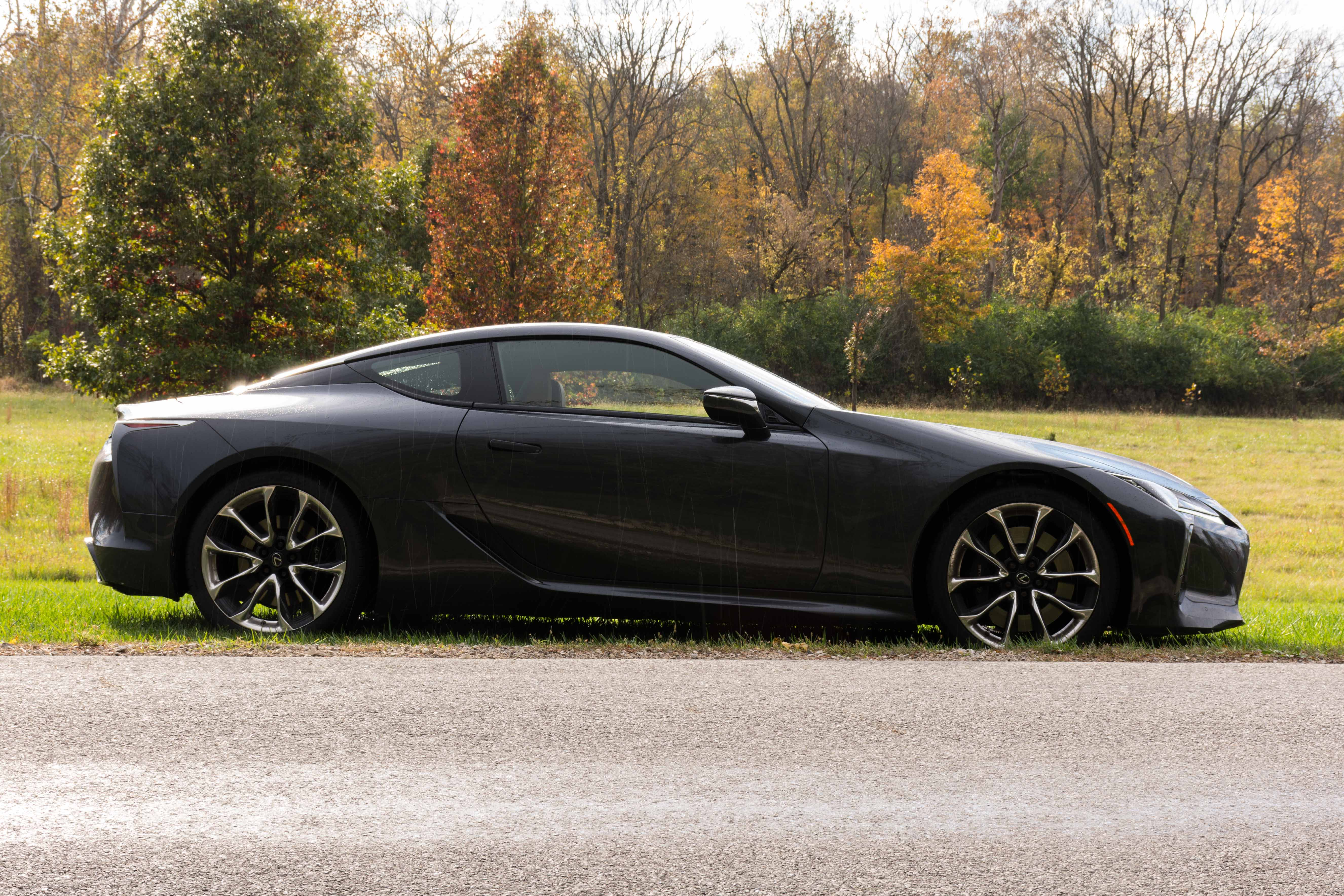 Lexus LC 500h coupe restyling