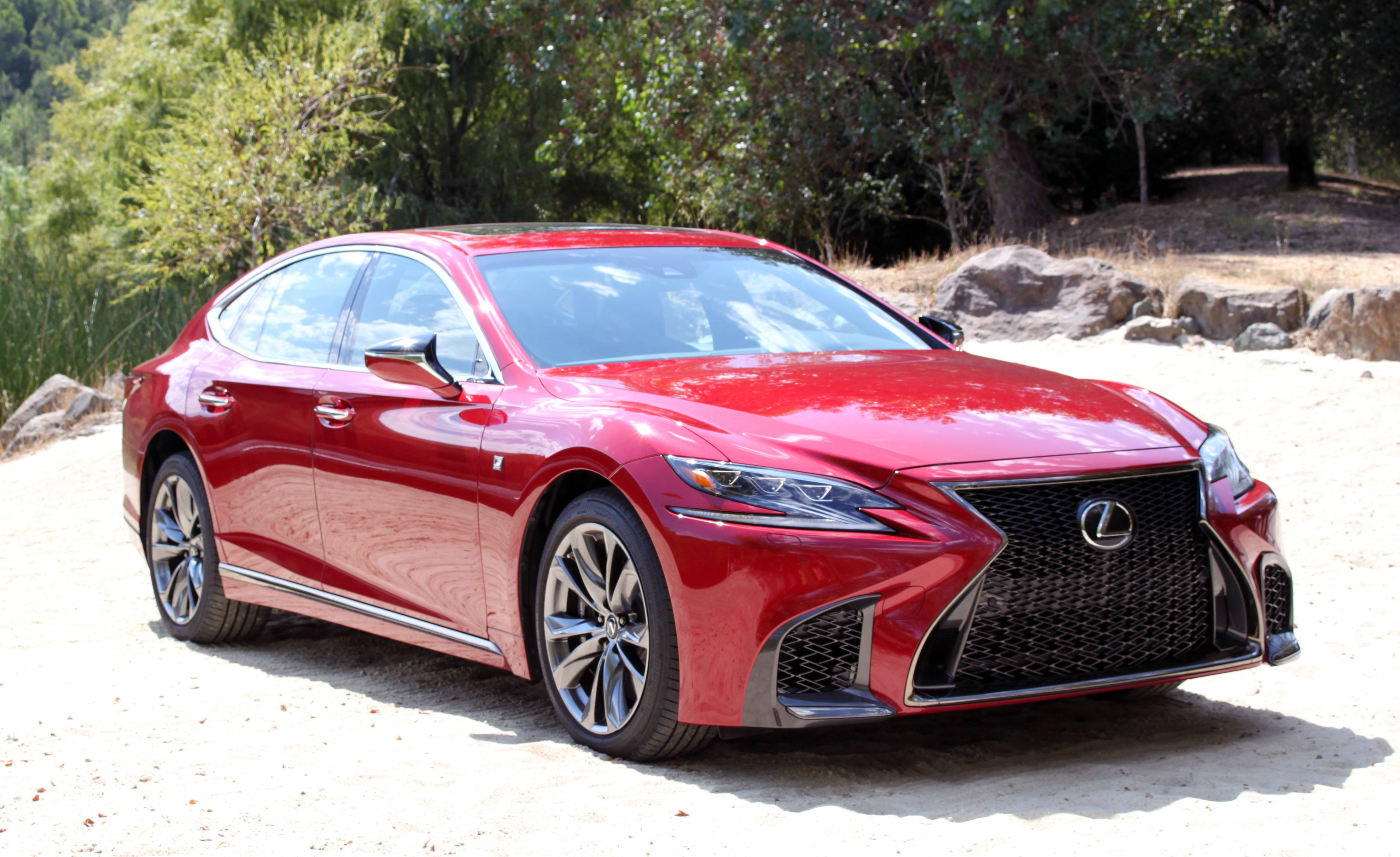 Lexus LS 500 hd specifications