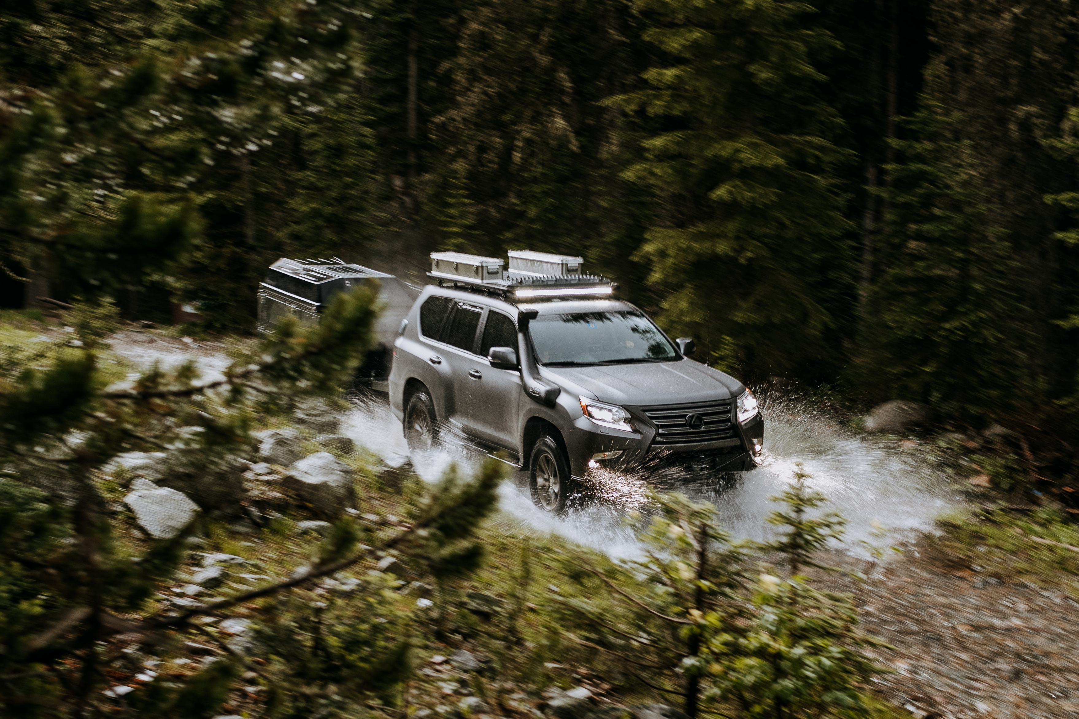 Lexus GX accessories specifications