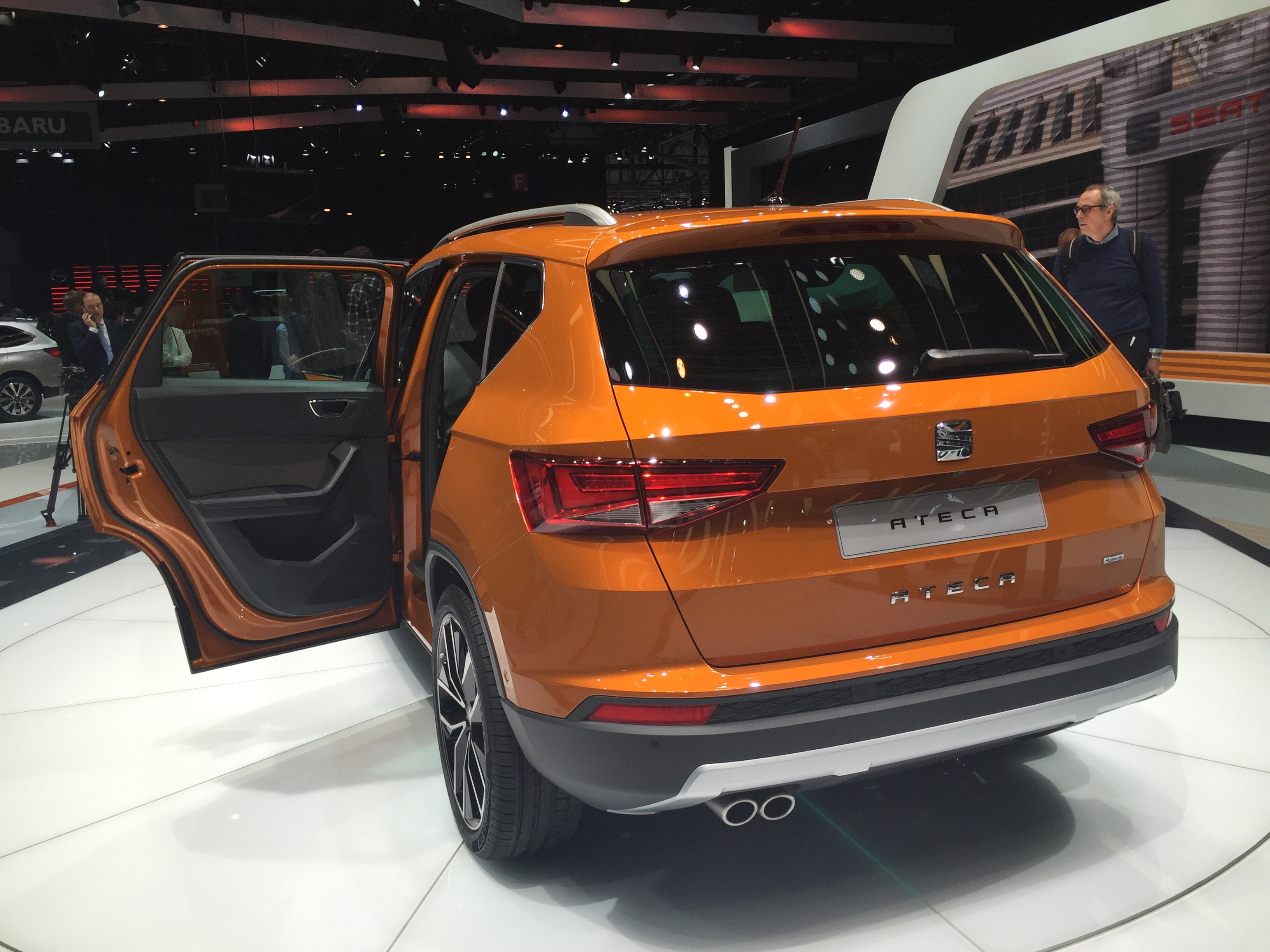 SEAT Ateca accessories specifications