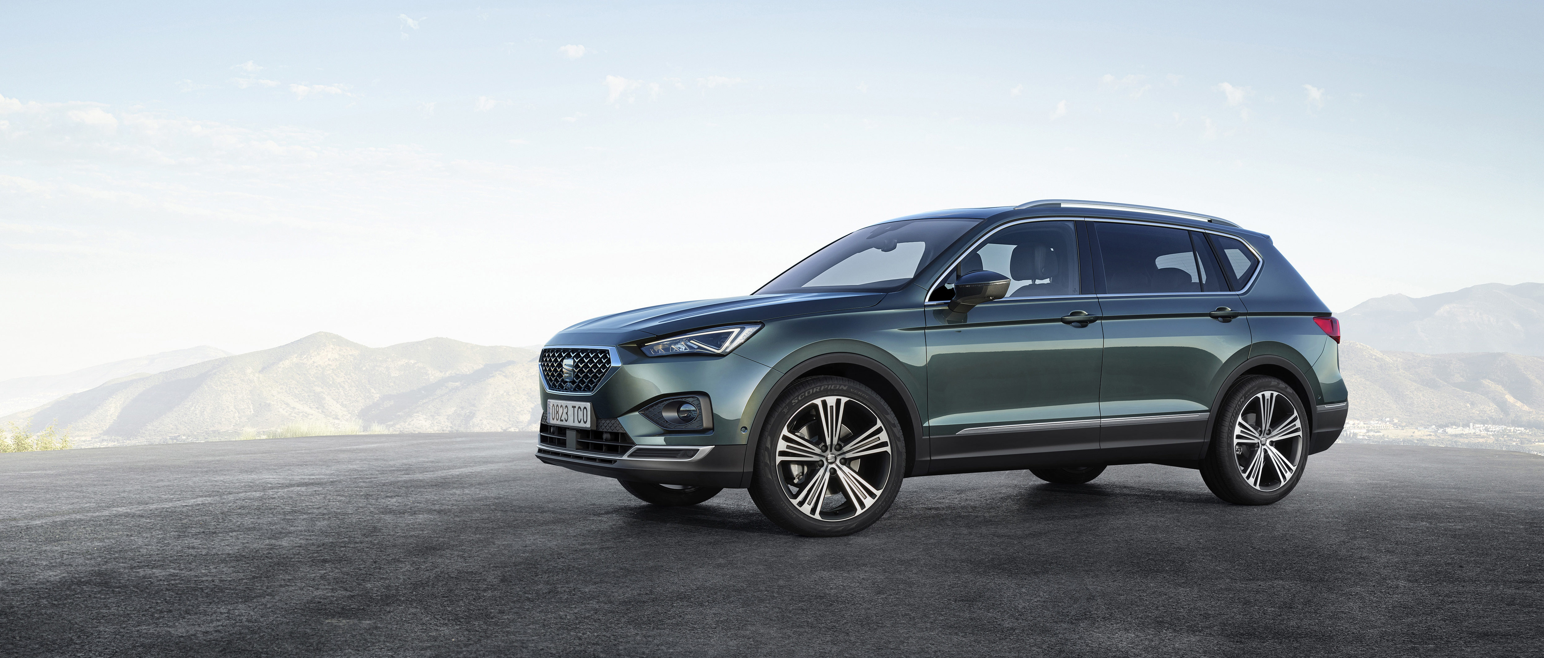 SEAT Tarraco 4k restyling