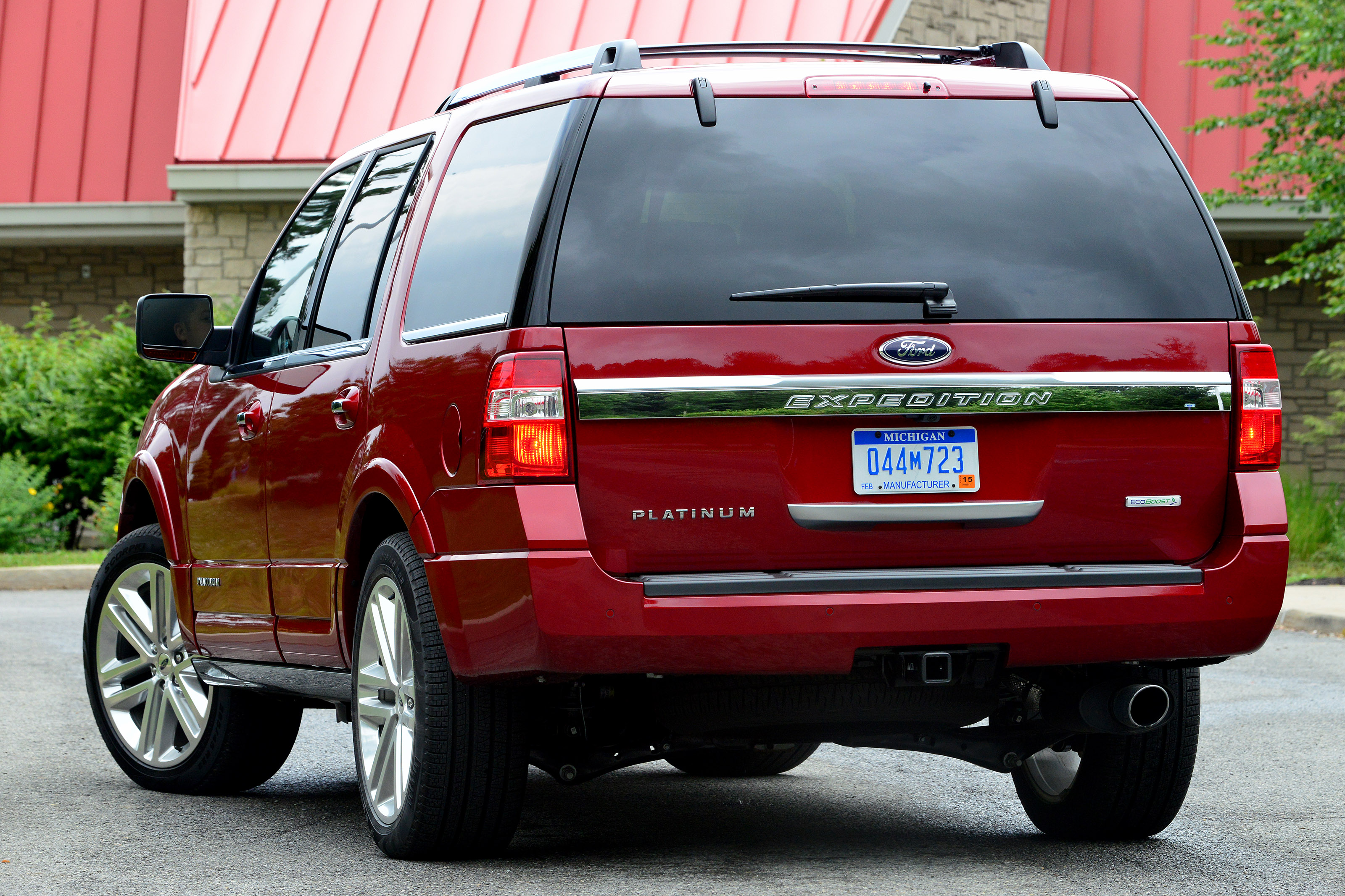 Ford Expedition exterior restyling