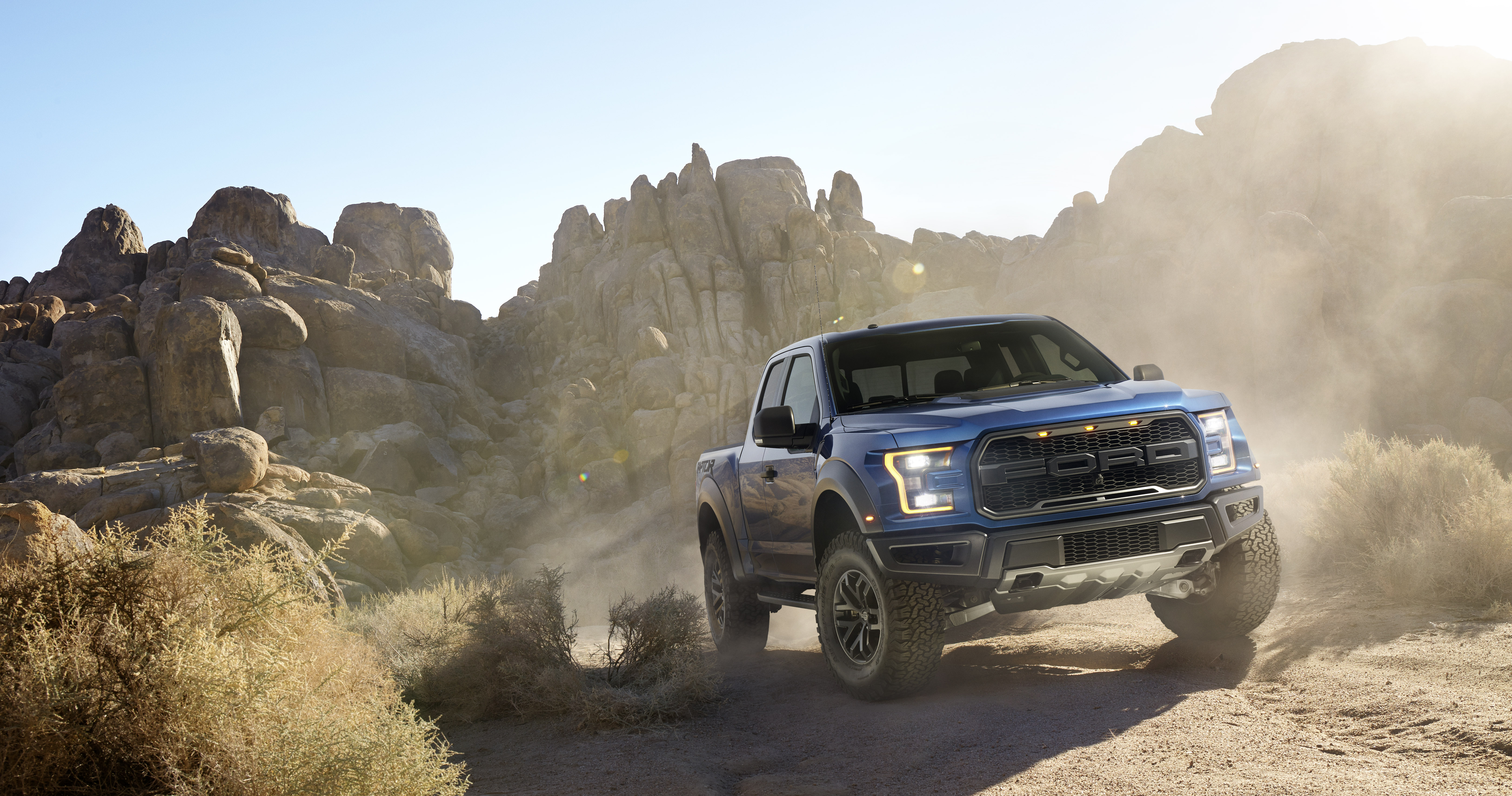 Ford F-150 Raptor reviews big