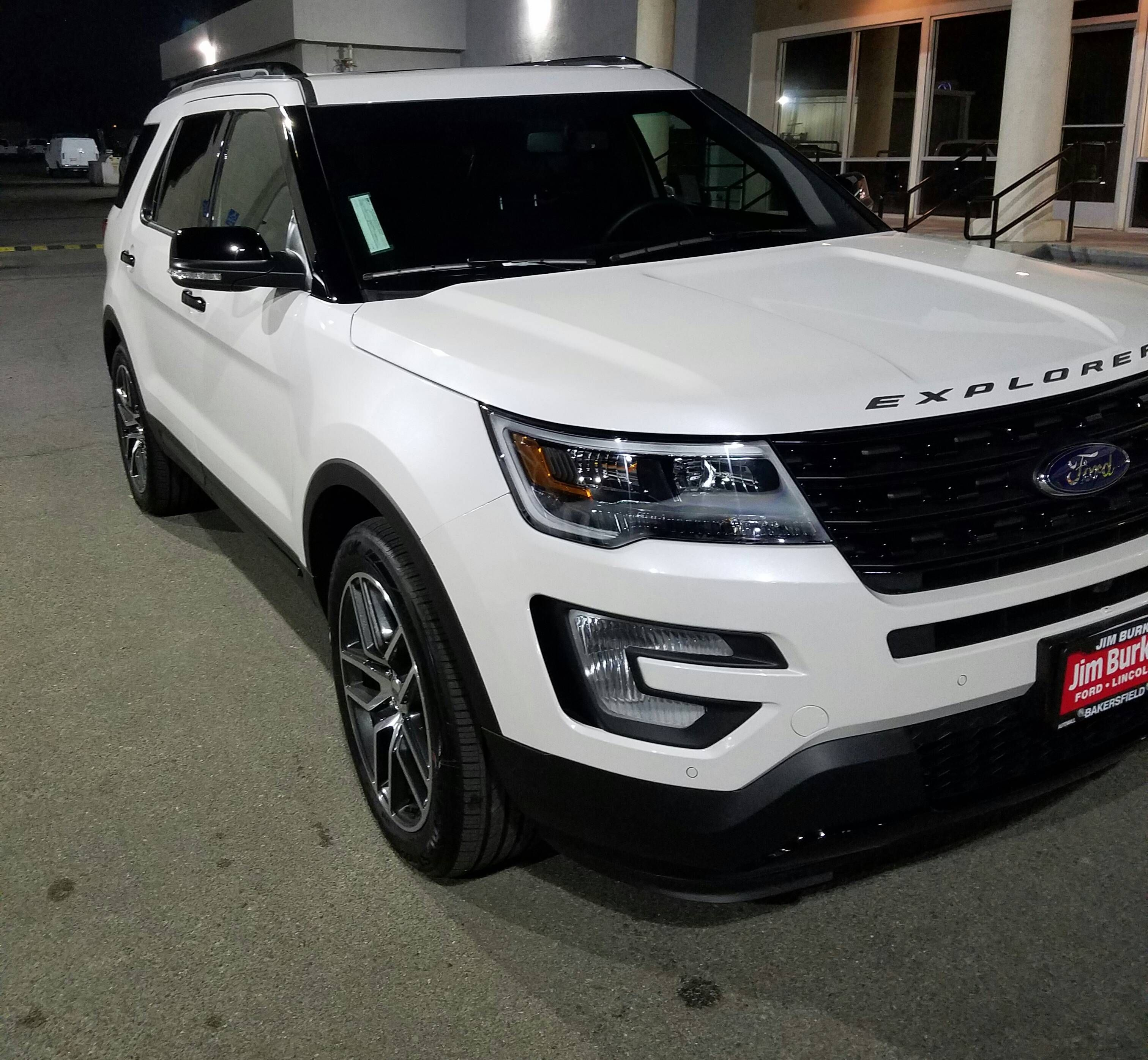 Ford Explorer accessories model