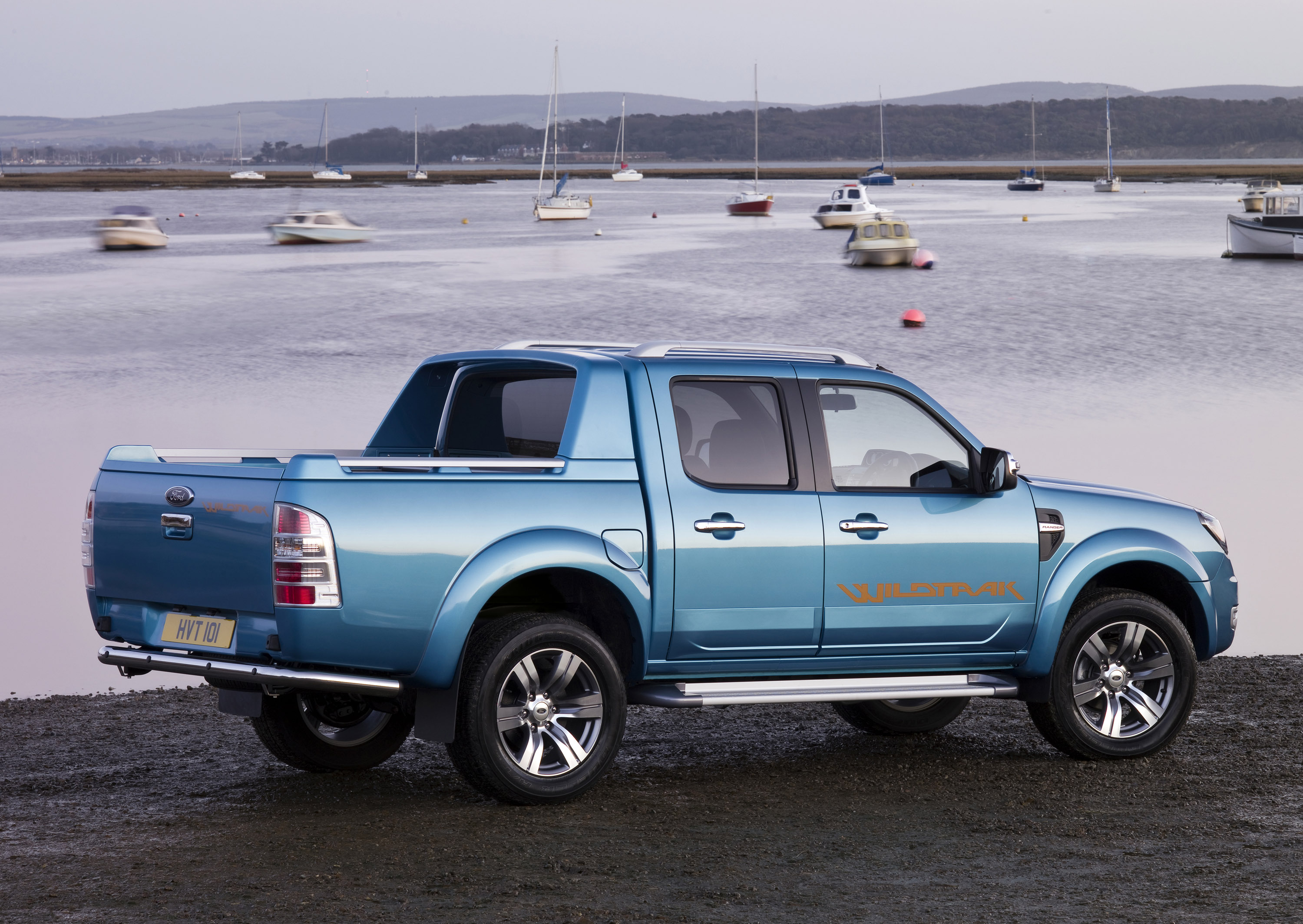 Ford Ranger Double Cab 4k 2018