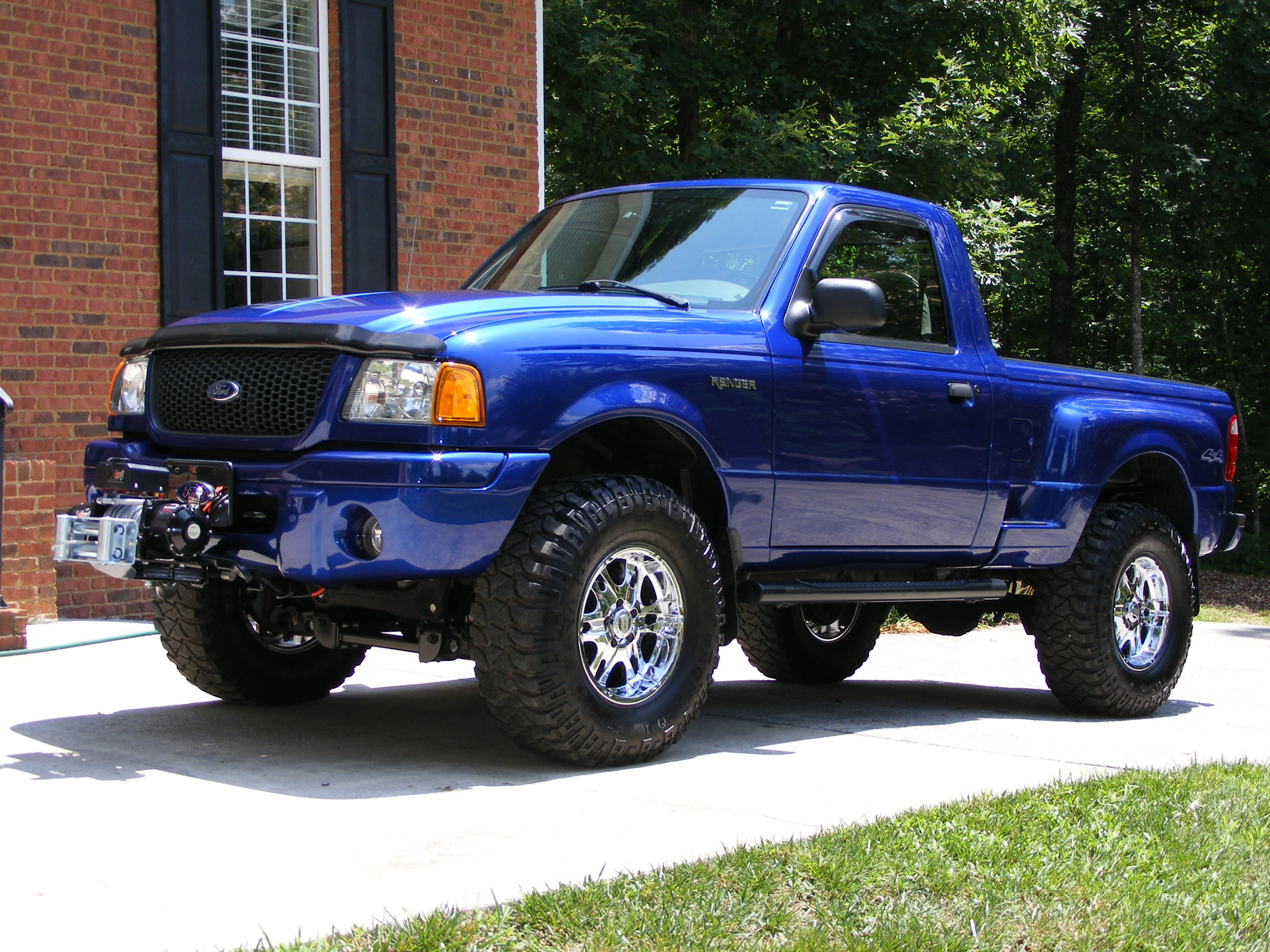 Ford Ranger Single Cab exterior restyling
