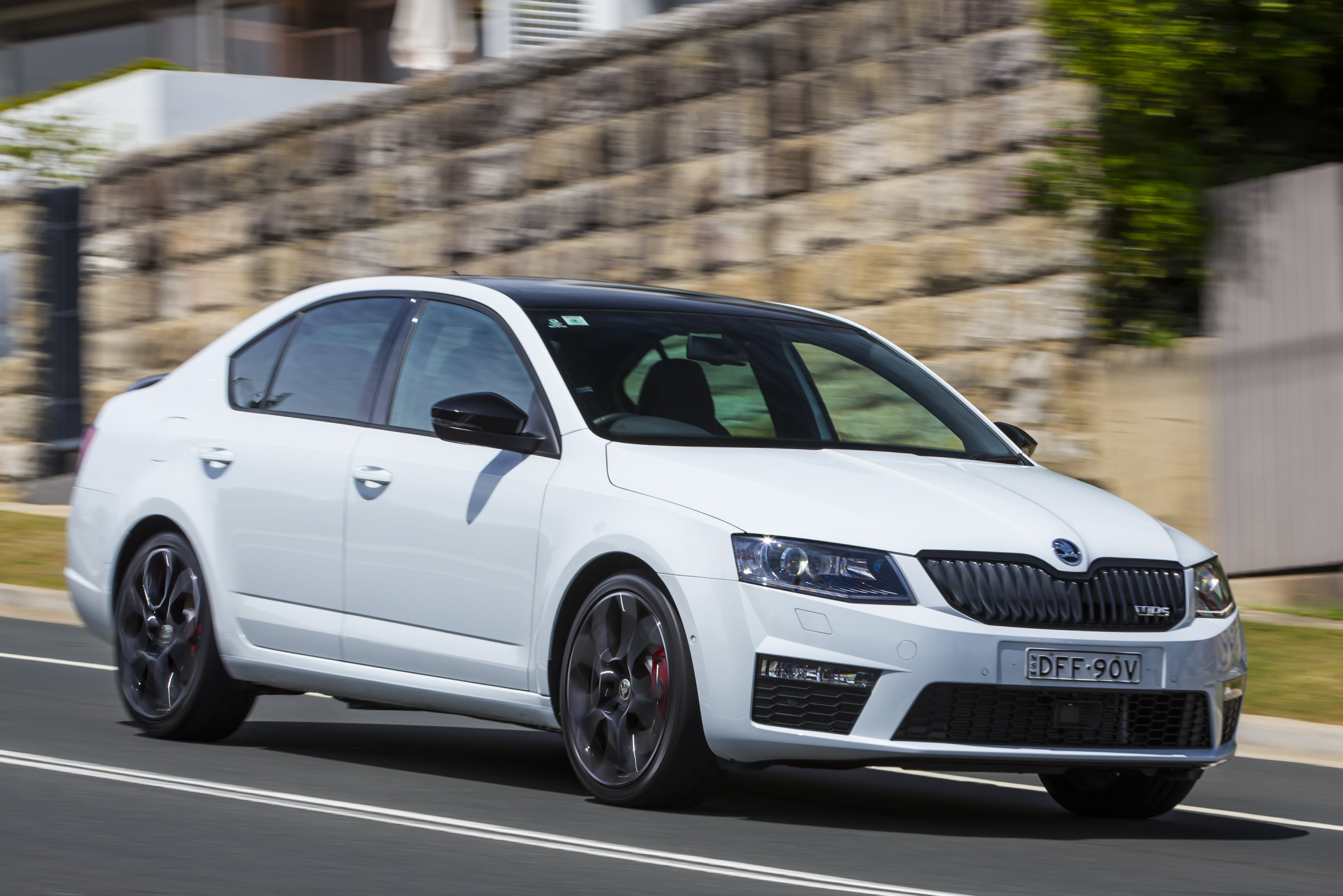 Skoda Octavia A7 RS mod model