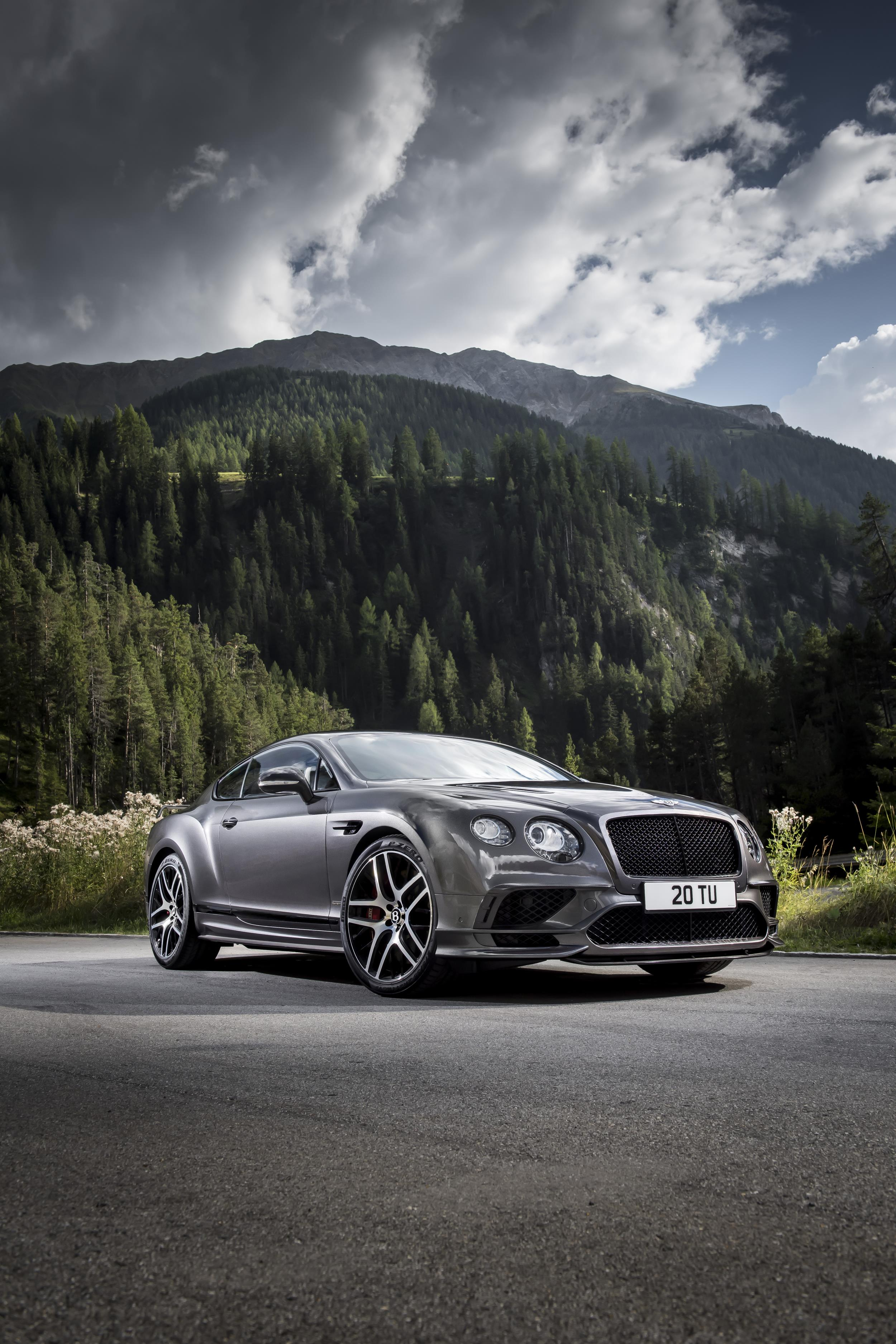 Bentley Continental GT mod specifications
