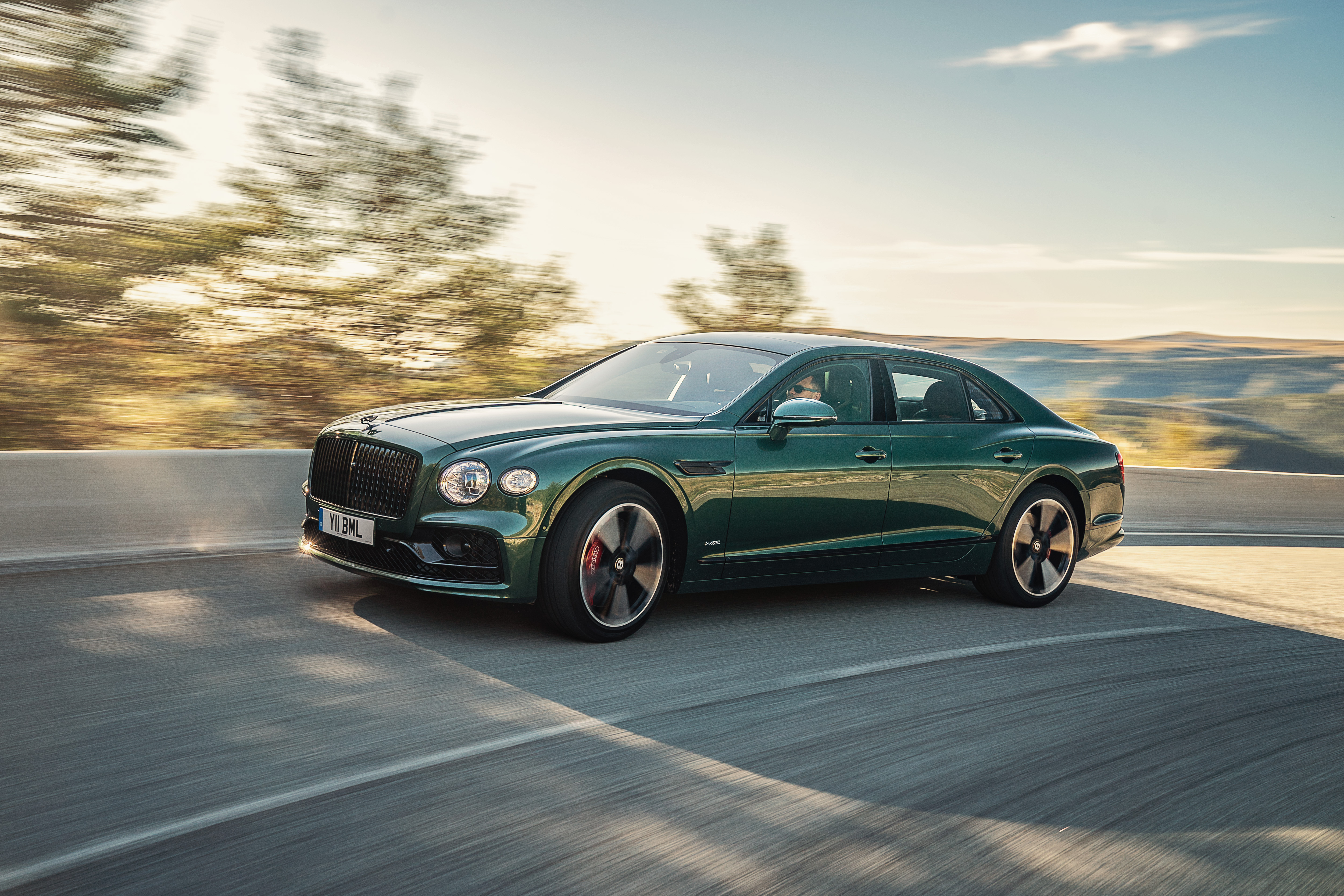 Bentley Flying Spur sedan restyling