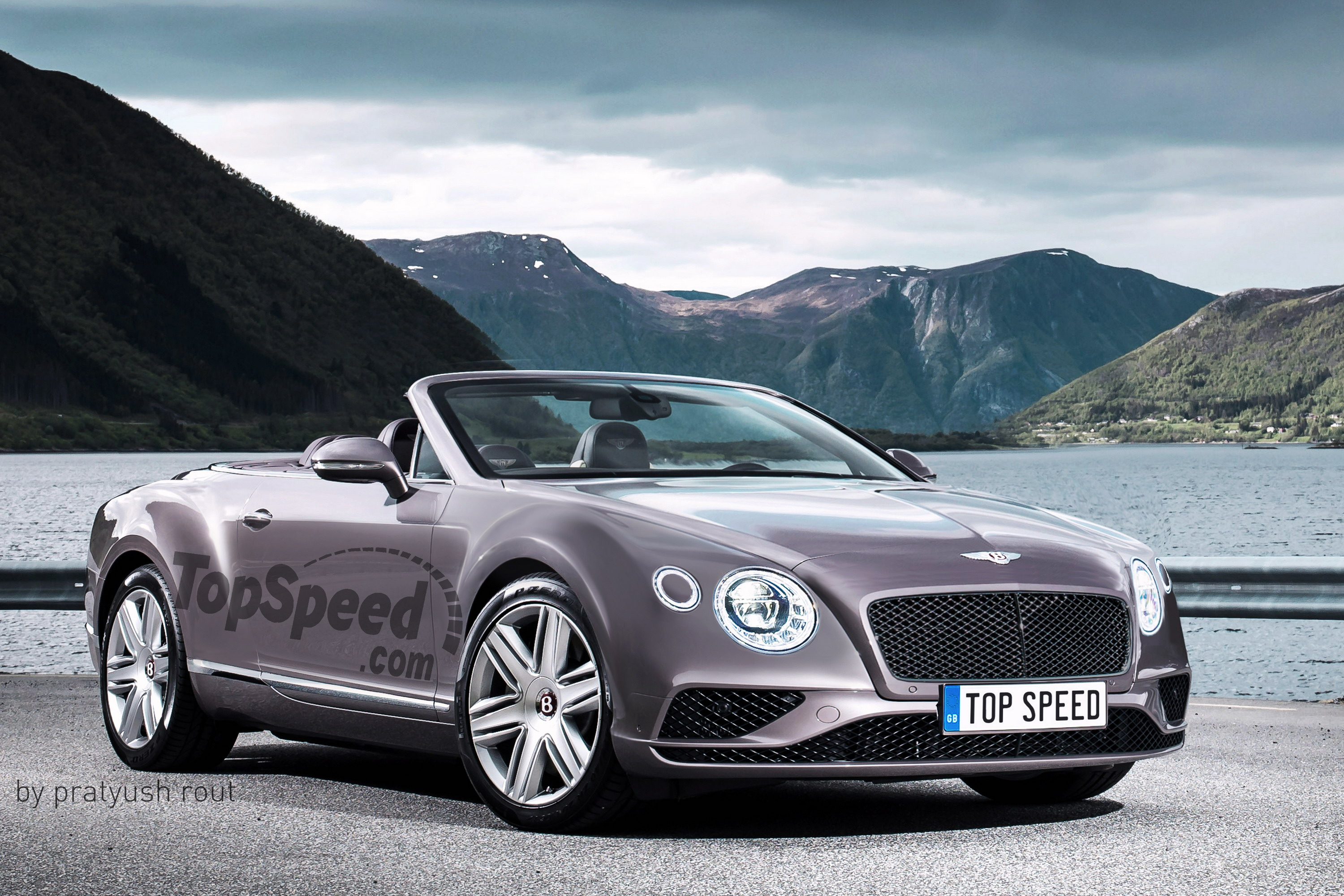 Bentley Continental Supersports Convertible 4k specifications