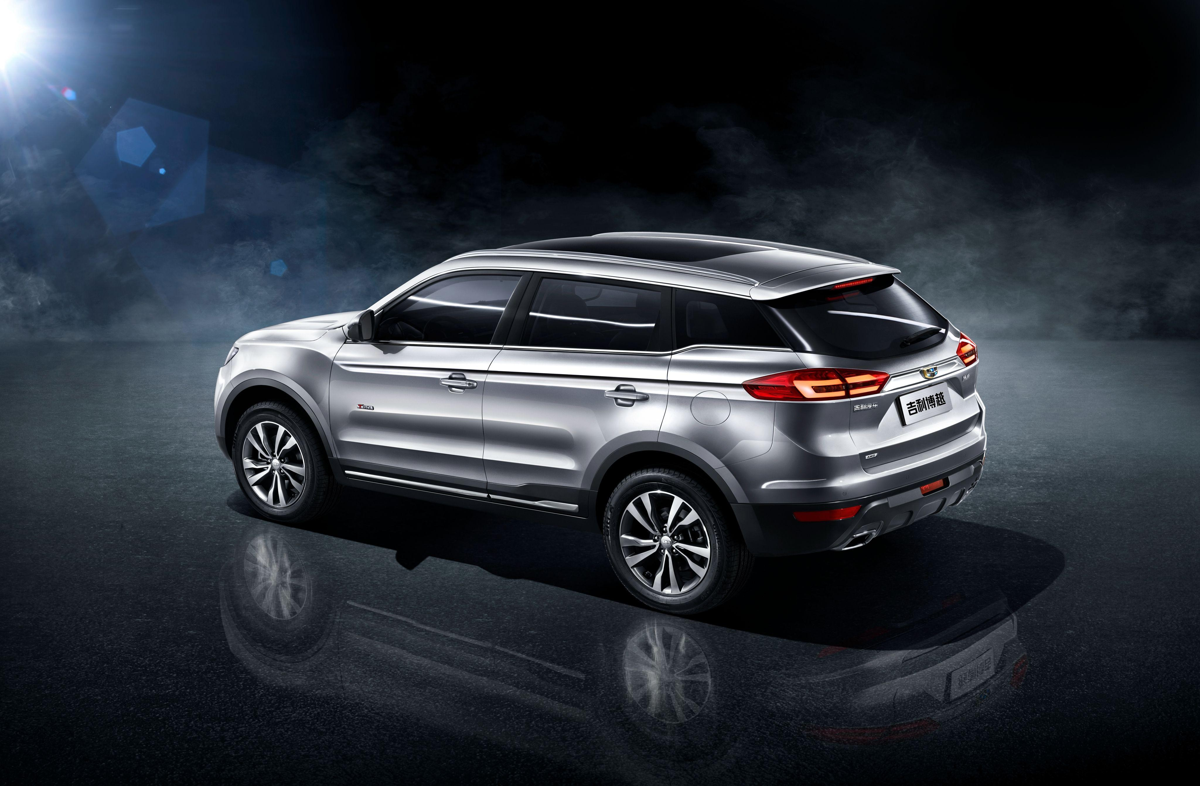Geely Atlas best 2018