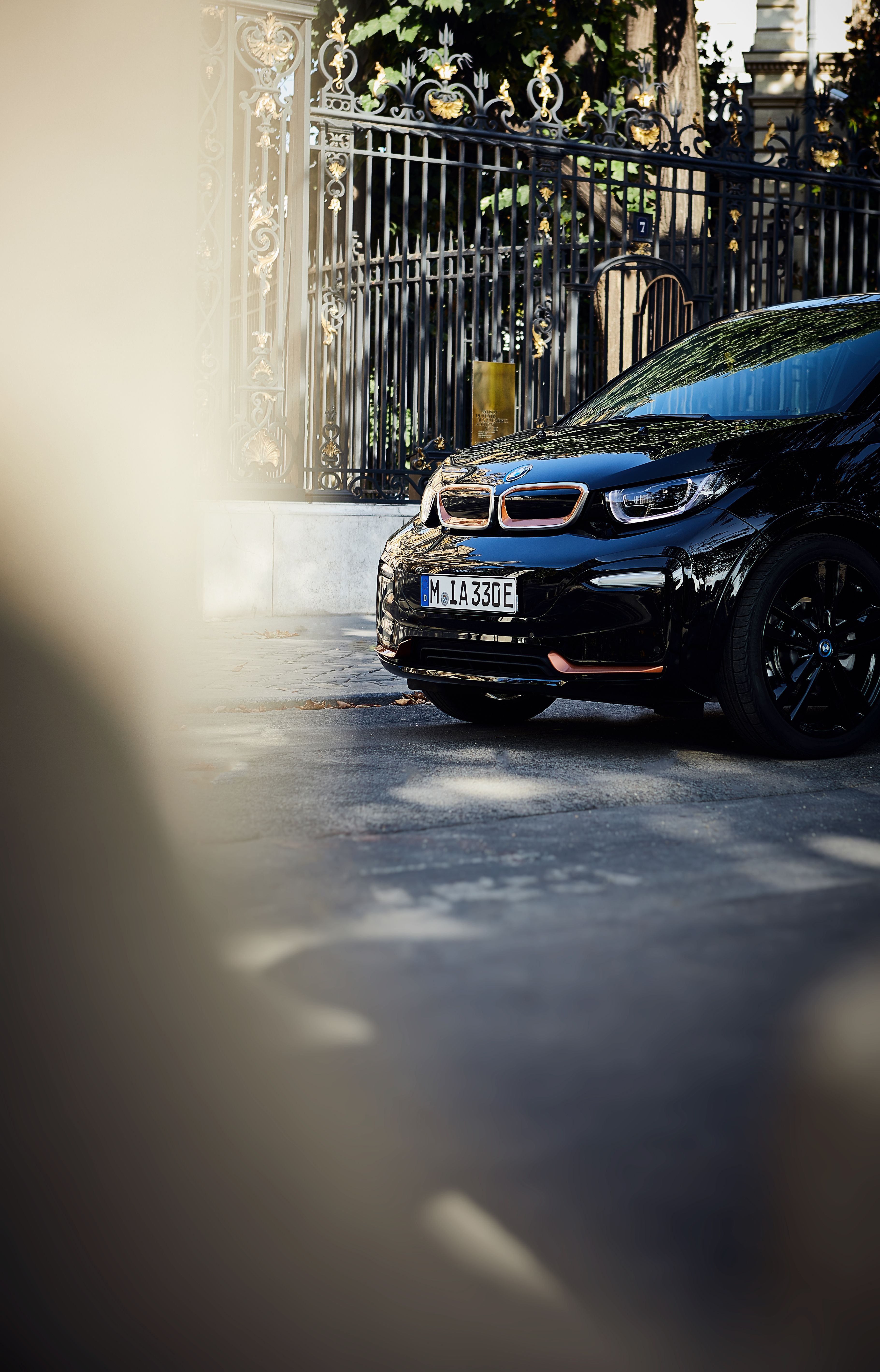 BMW i3s (I01) interior specifications
