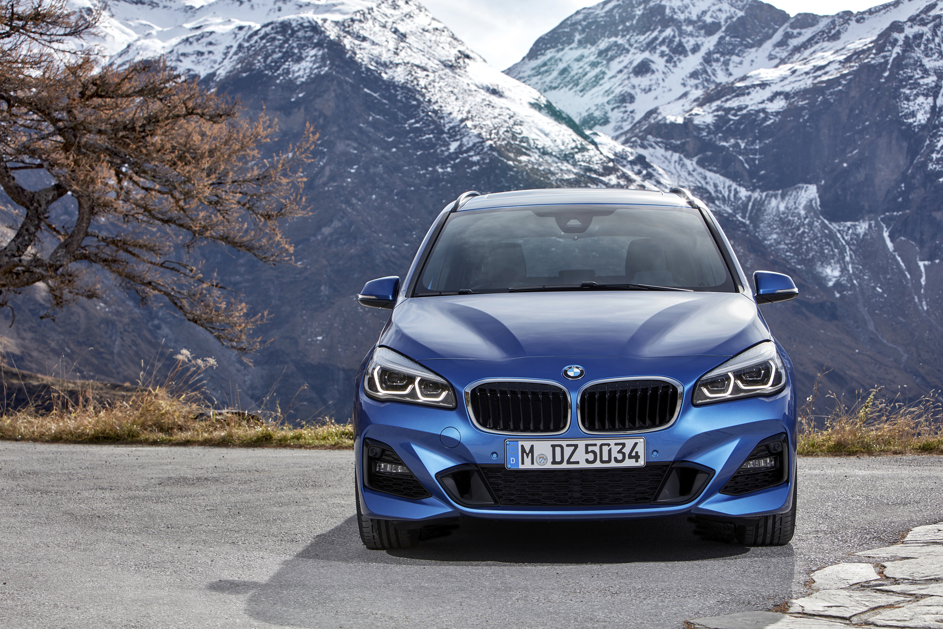BMW 2 Series Gran Tourer (F46) exterior restyling