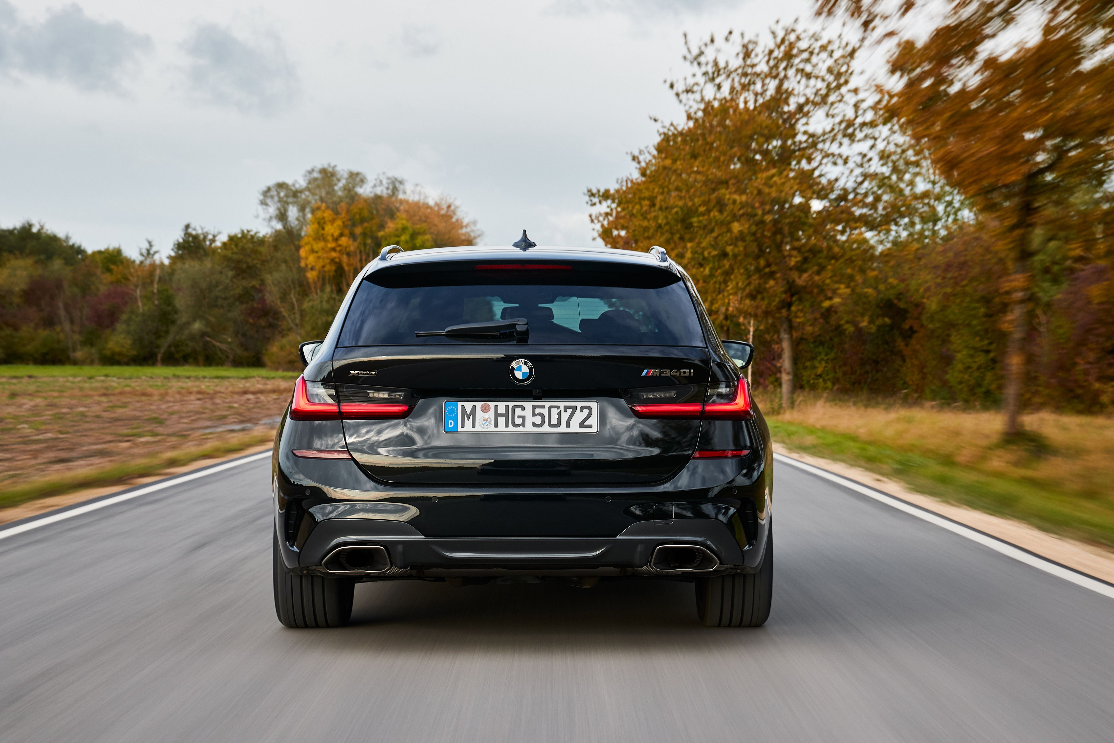 BMW 3 Series Touring (G21) hd 2019