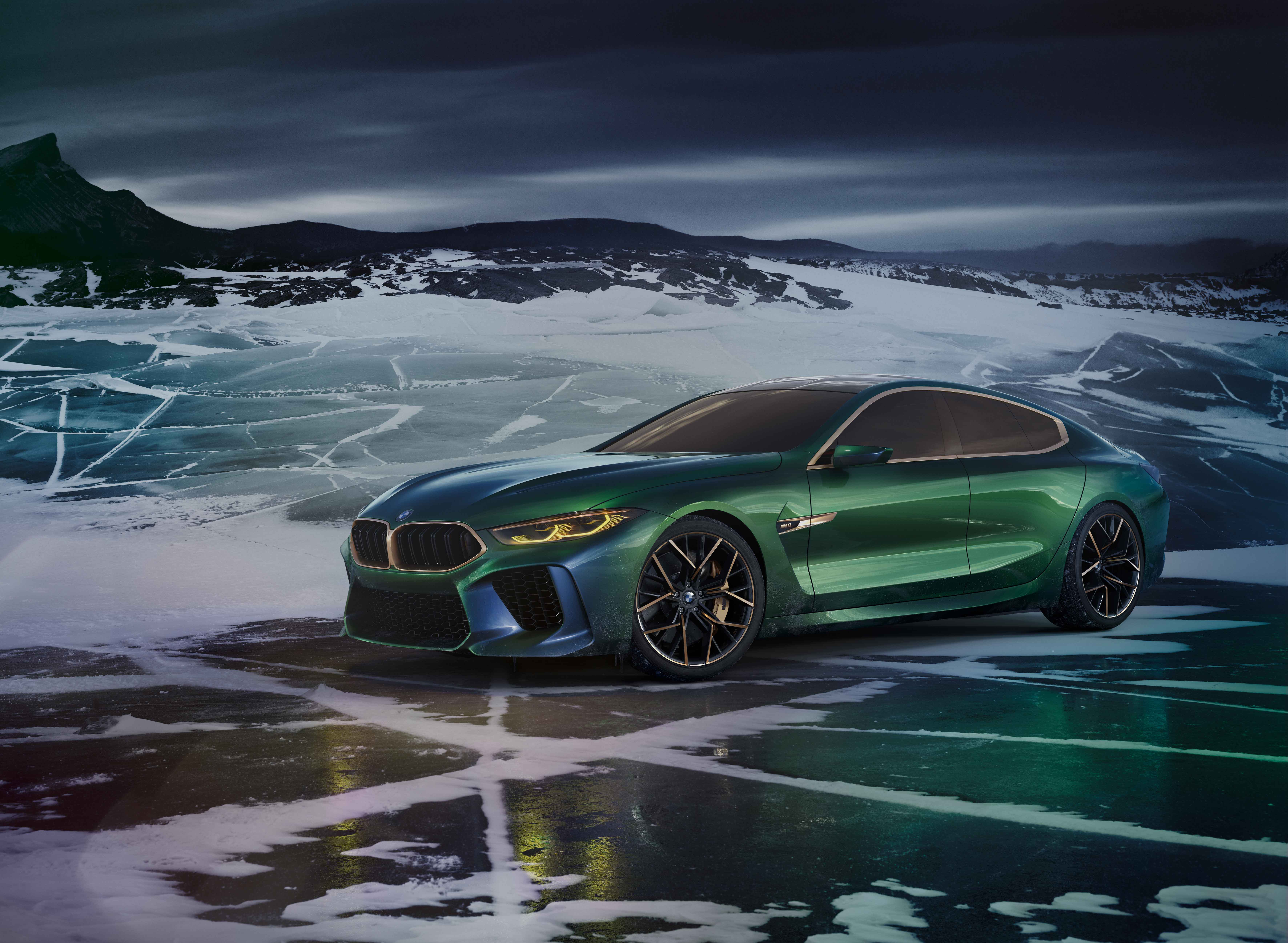 BMW M8 Gran Coupe (F93) 4k 2019