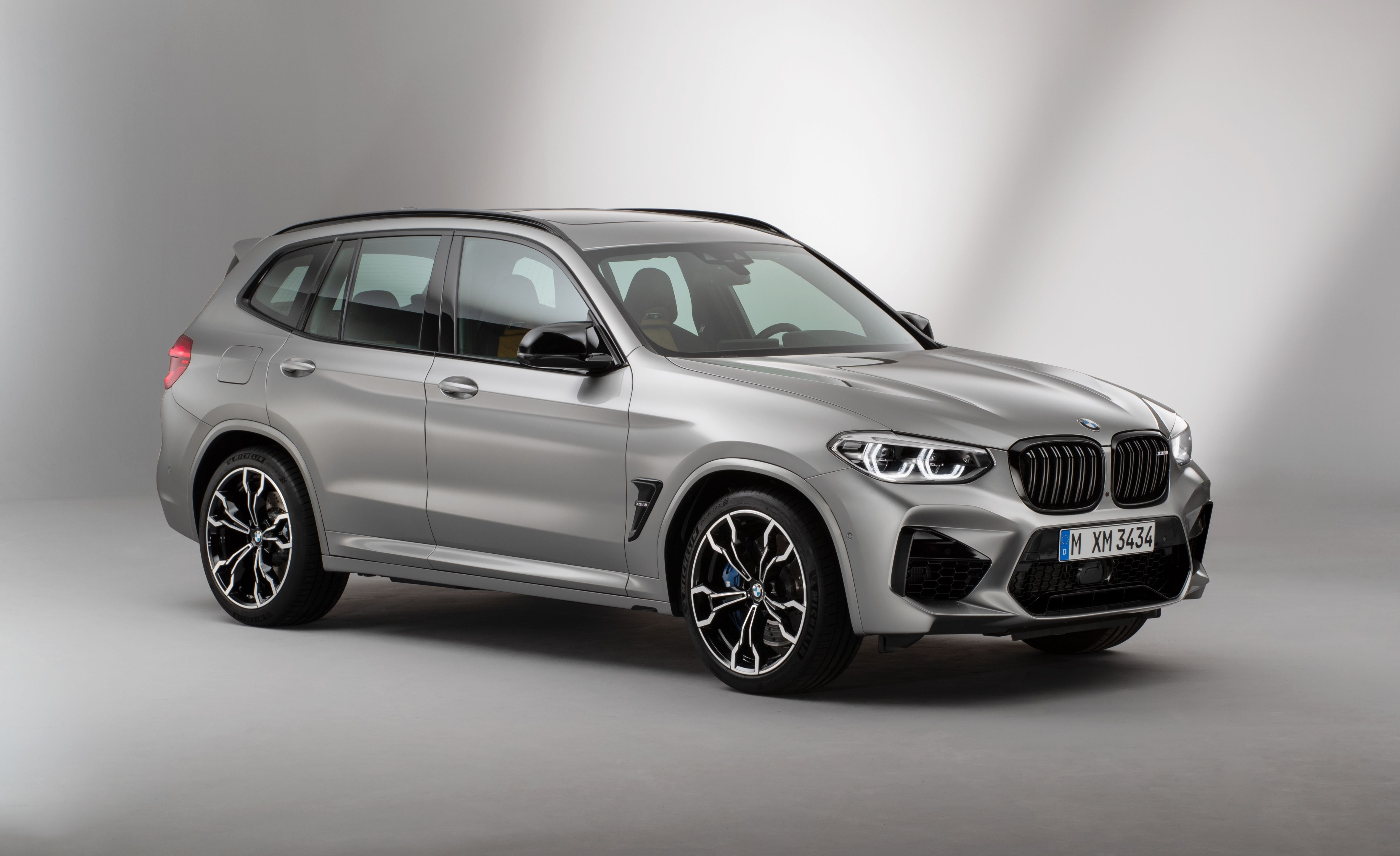 BMW X3 M (F97) exterior restyling