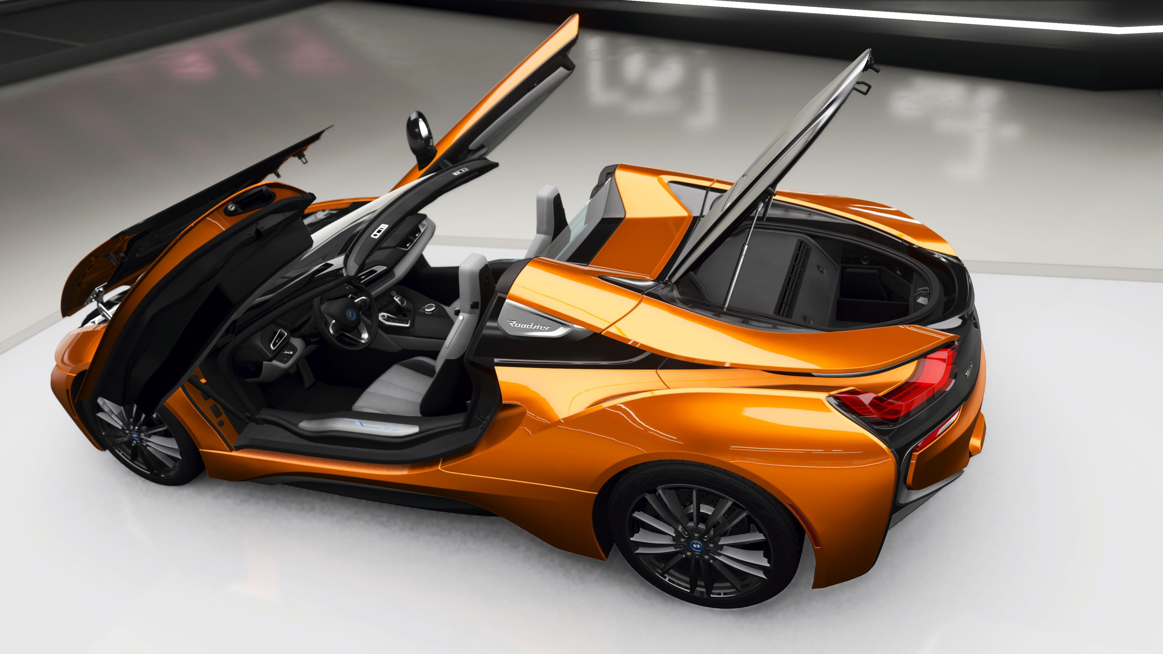 BMW i8 Roadster (I15) mod specifications