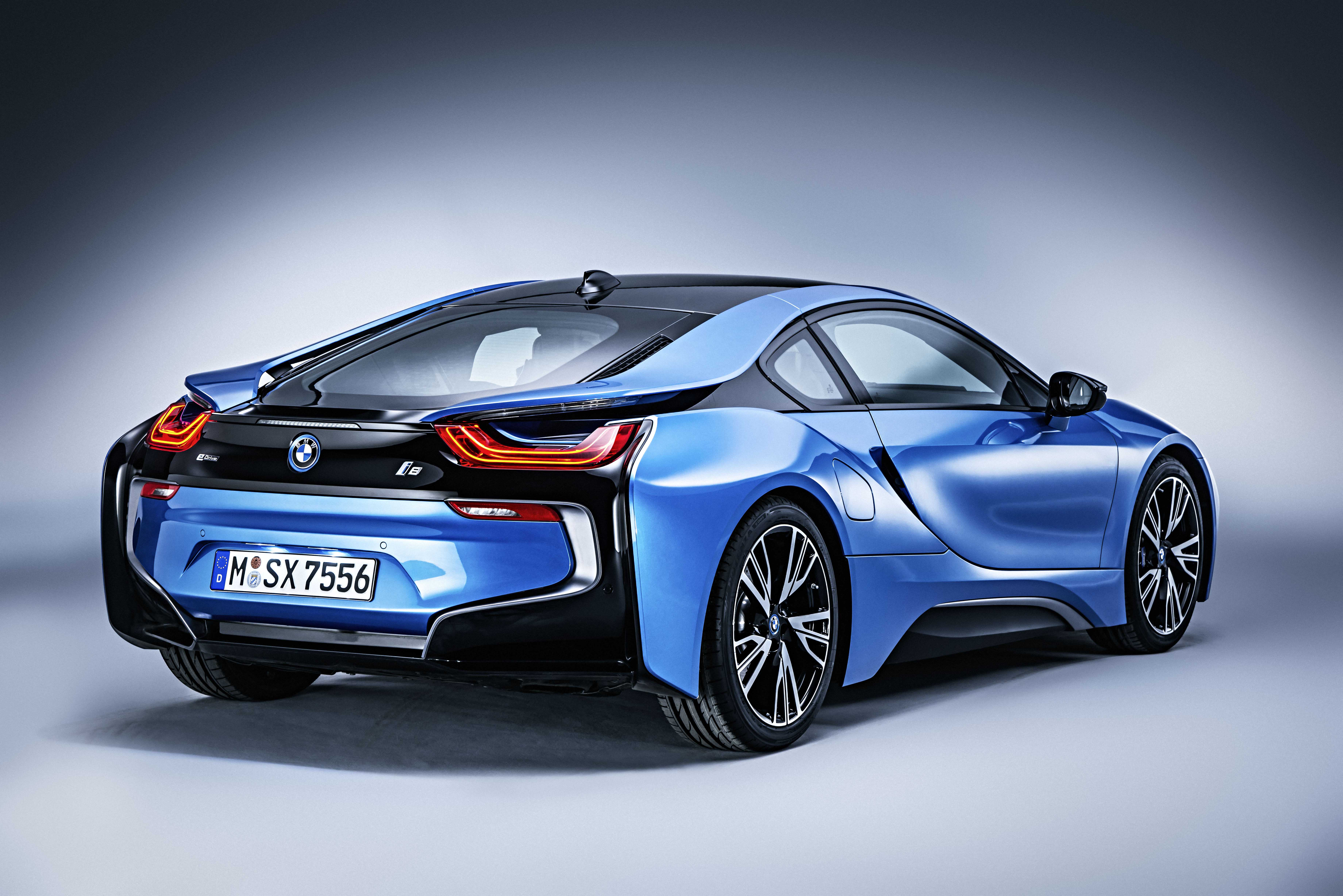 BMW I8 Coupe (I12) best restyling