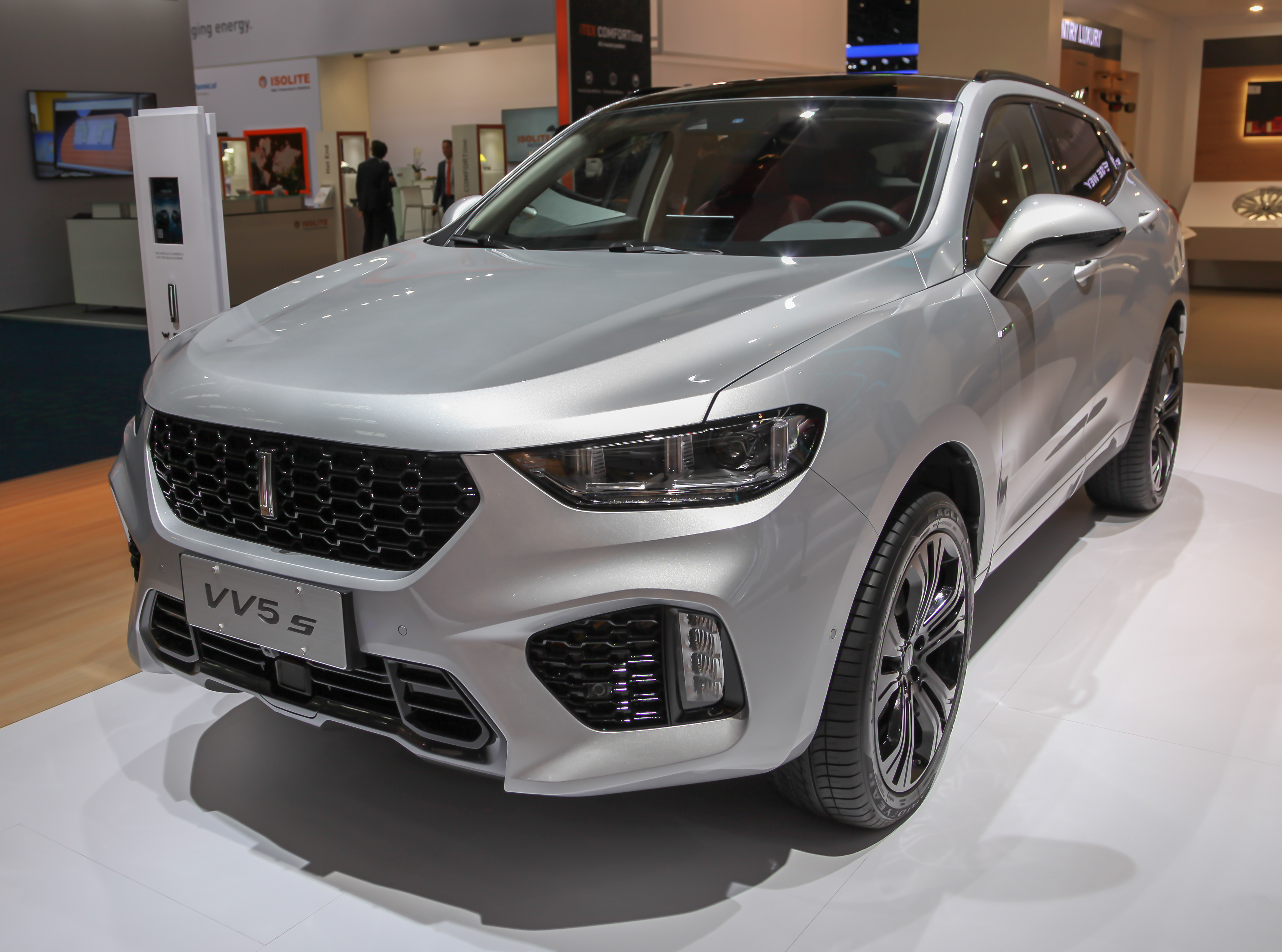 Great Wall Haval H2s 4k restyling