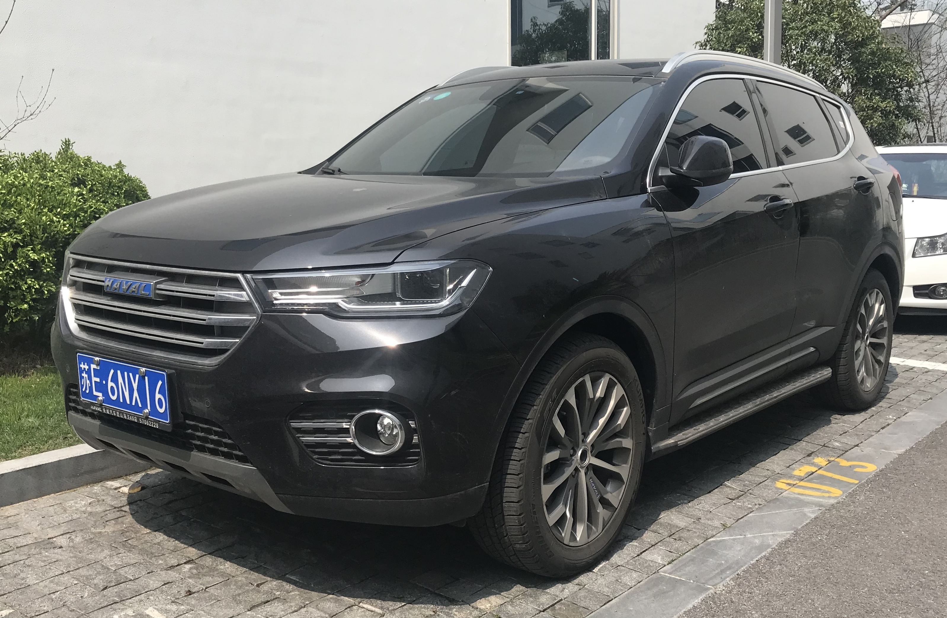 Great Wall Haval H6 Blue Label hd restyling