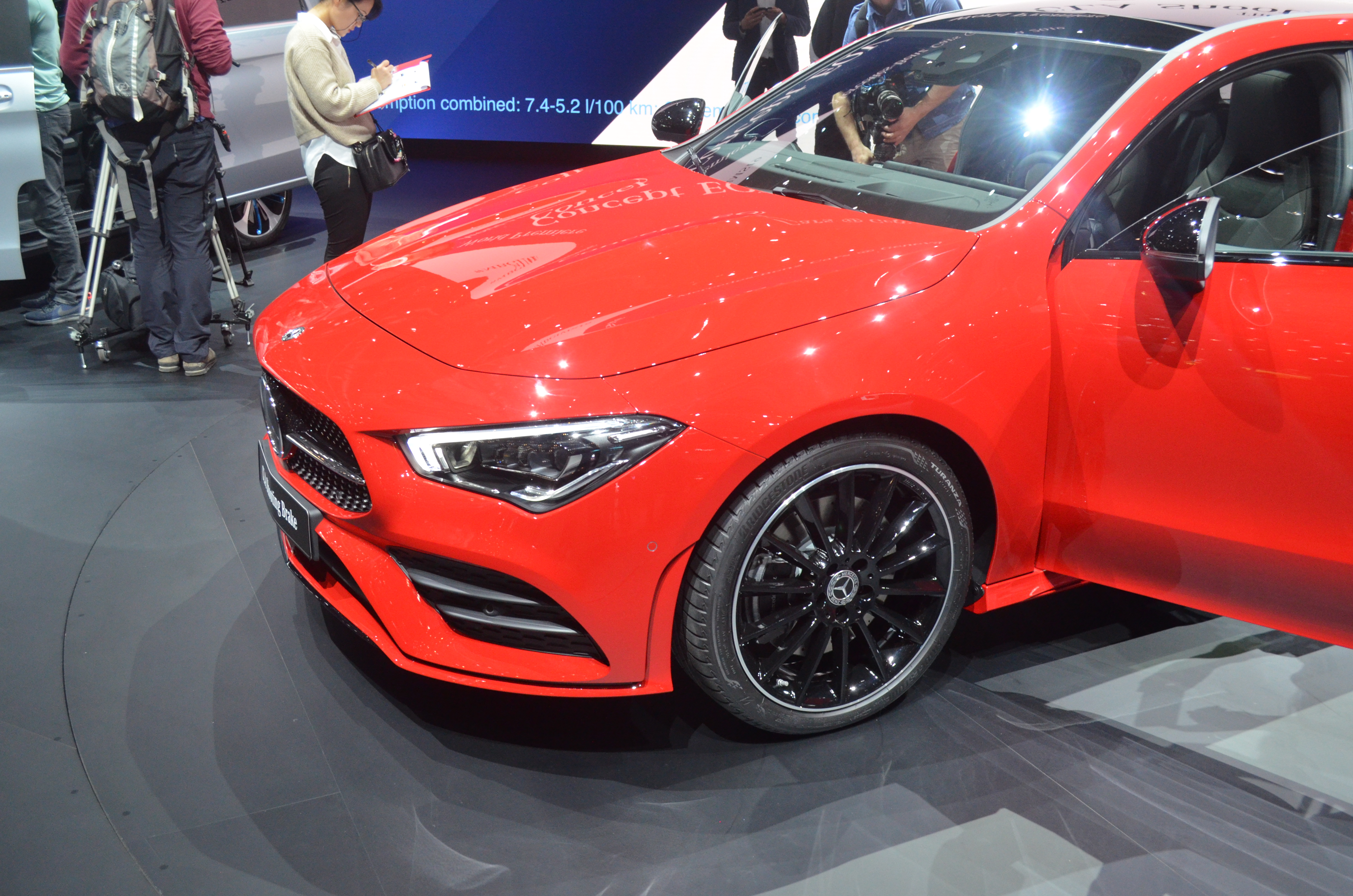 Mercedes CLA Shooting Brake (X118) mod restyling