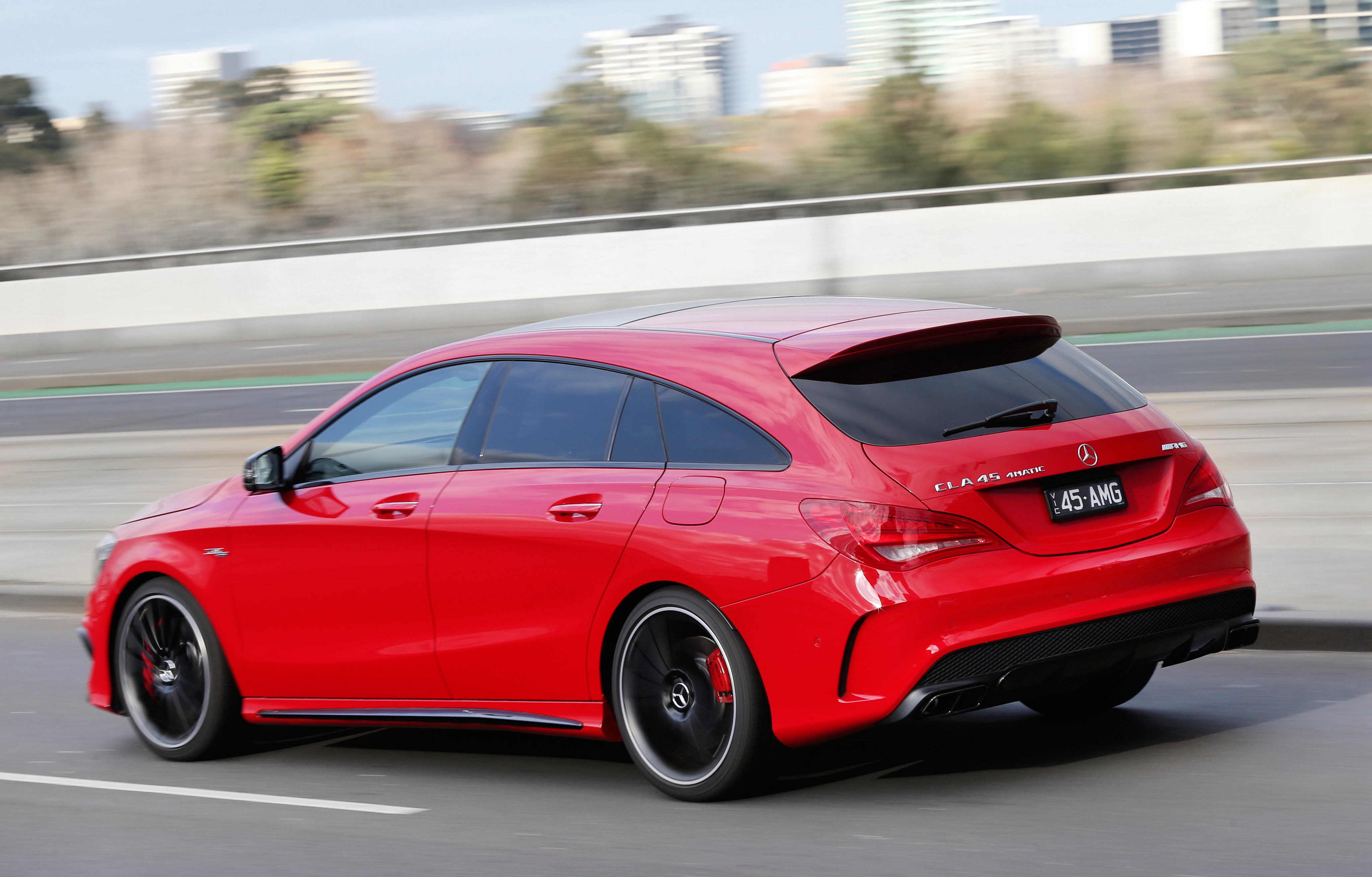 Mercedes CLA Shooting Brake (X118) hd 2019