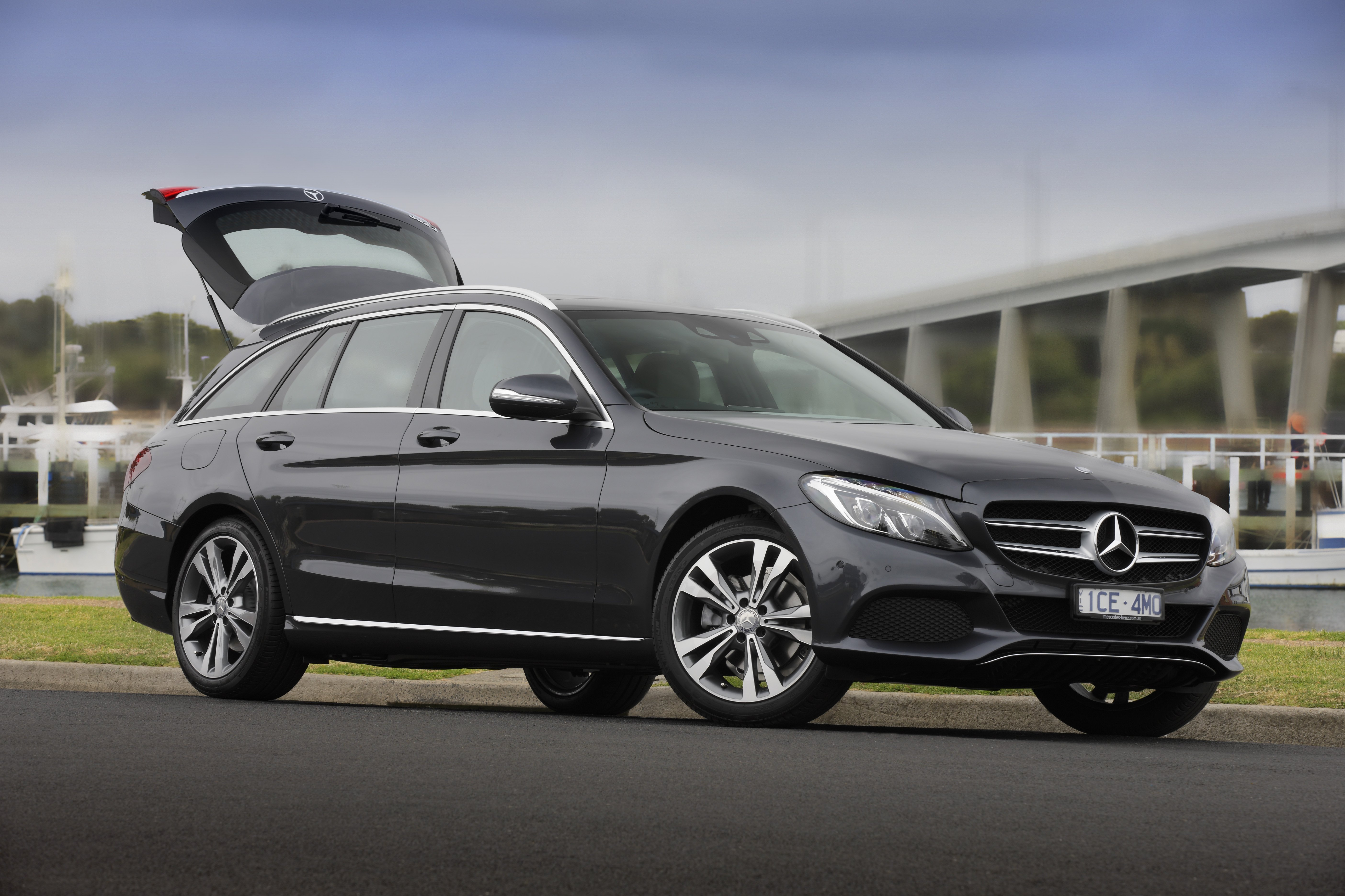 Mercedes C-Class Estate (S205) mod restyling