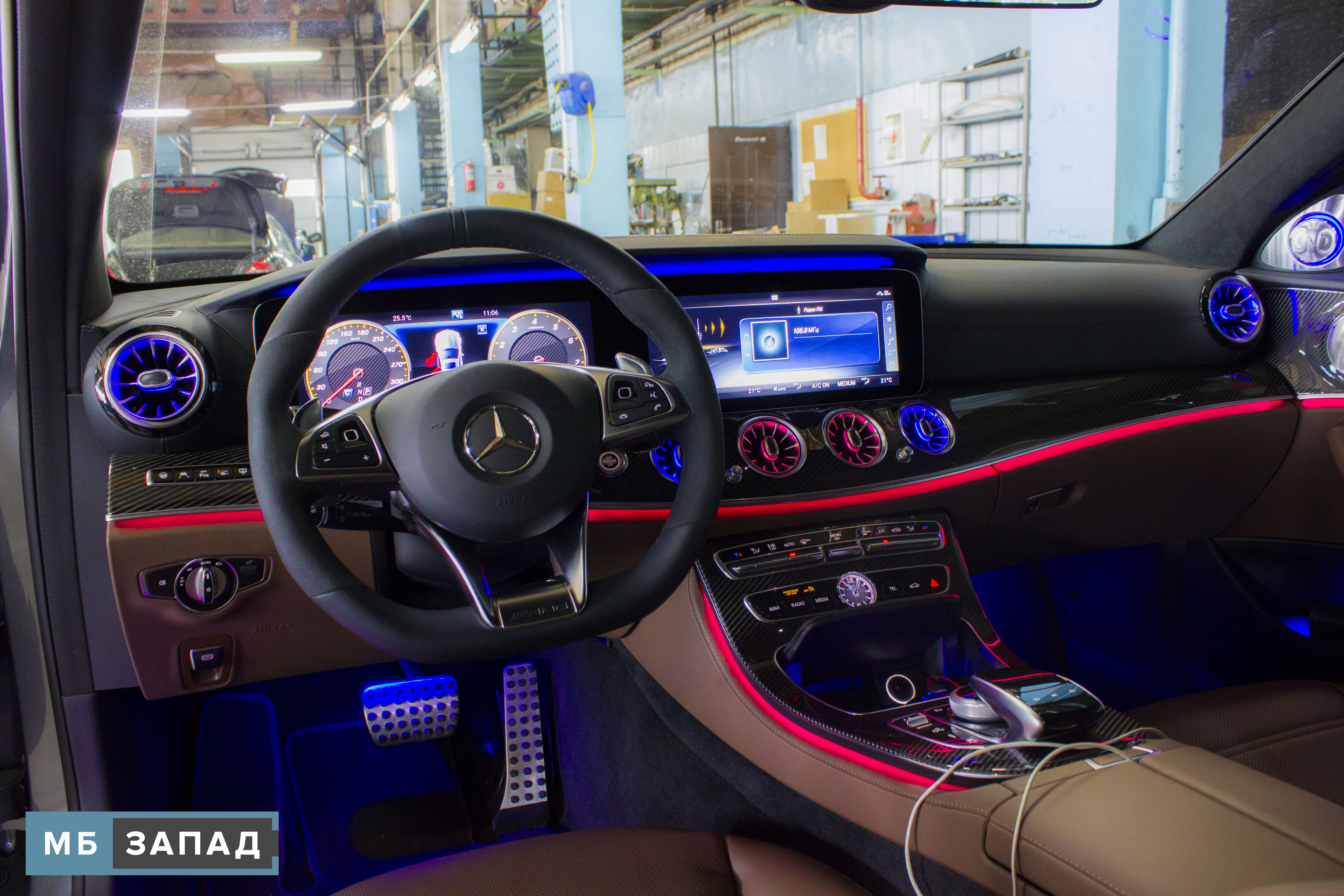 Mercedes CLS-Class (C257) interior restyling