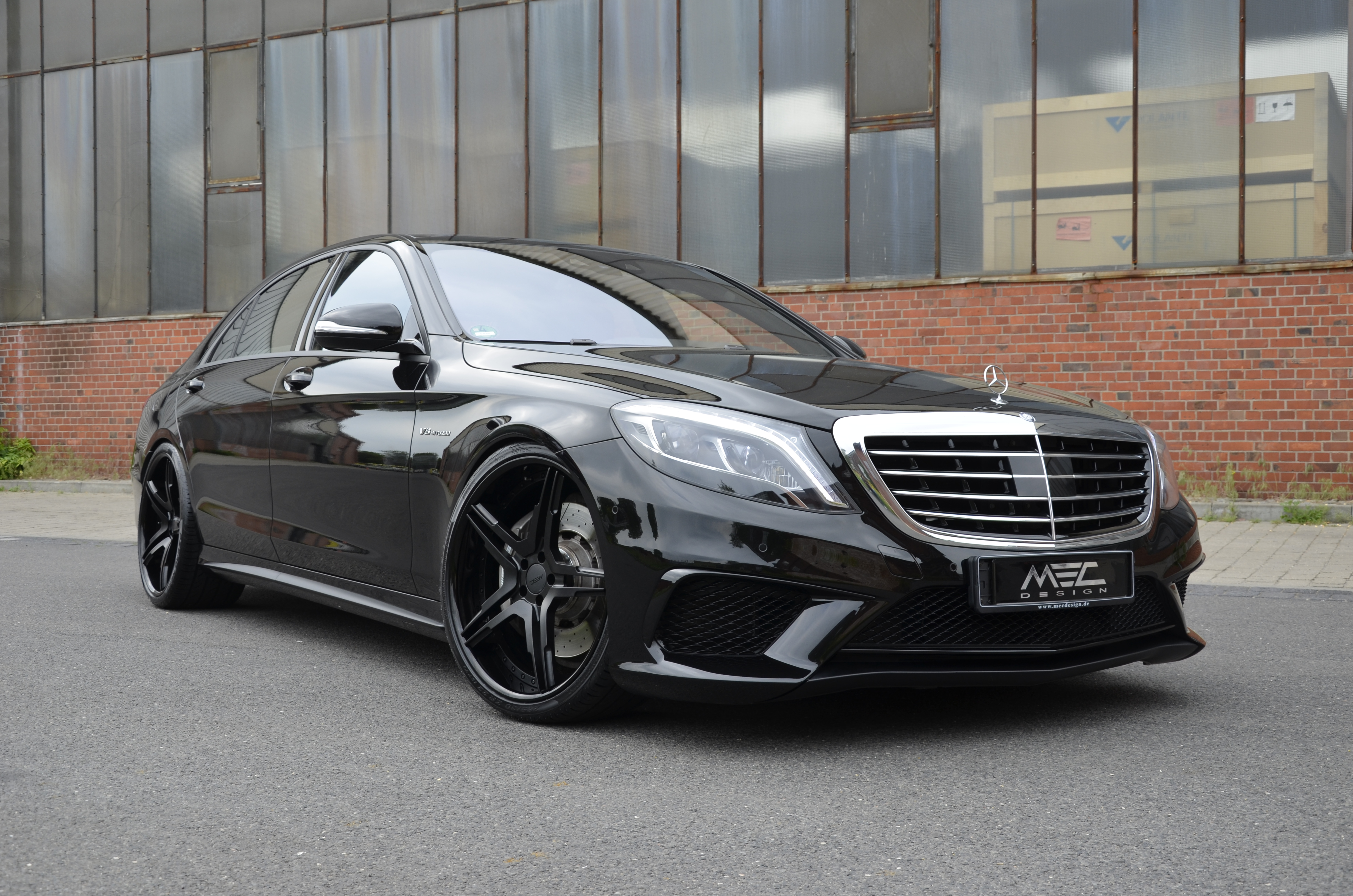 Mercedes S-Class Hybrid (W222) exterior specifications