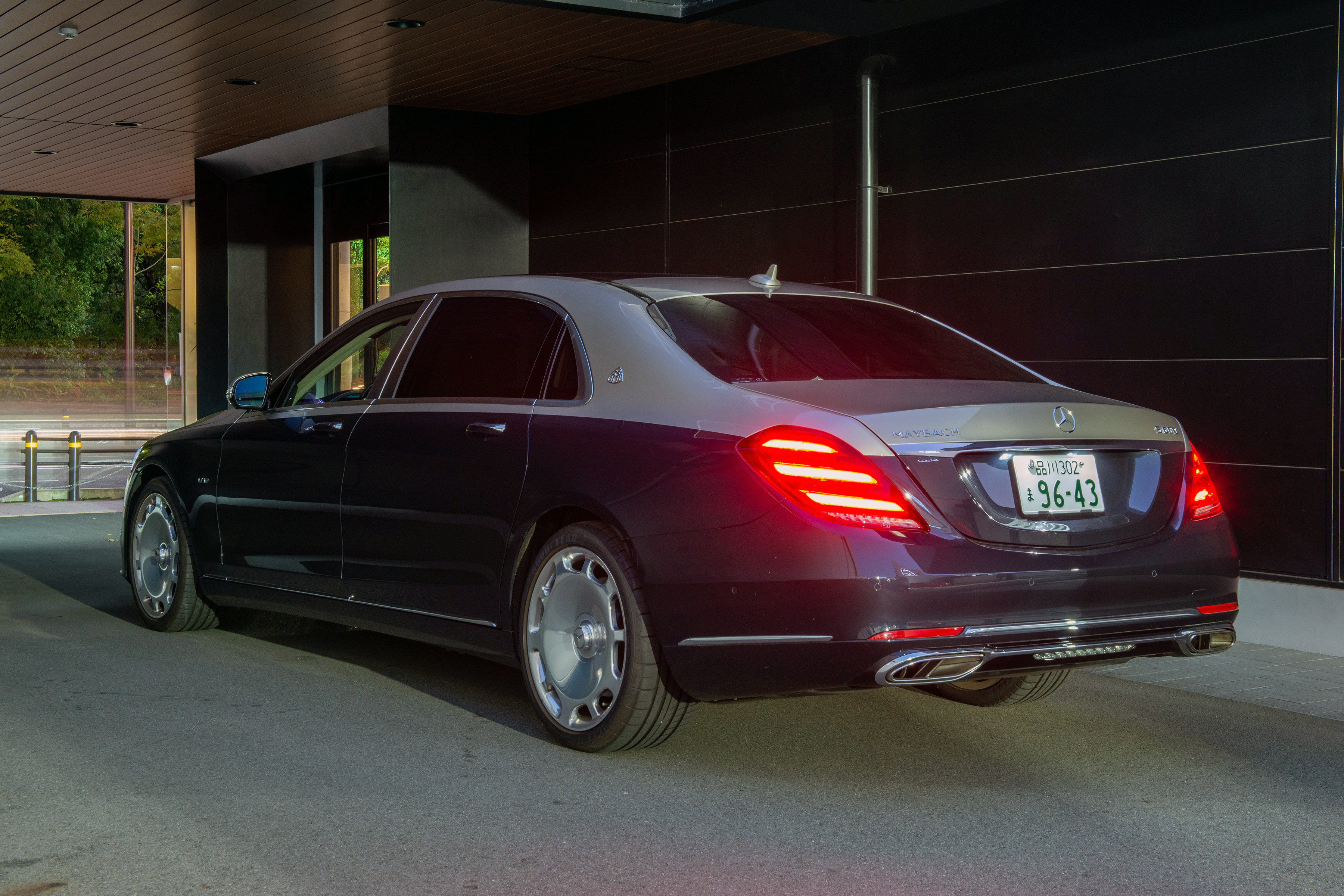 Mercedes Maybach S-Class (X222) modern model