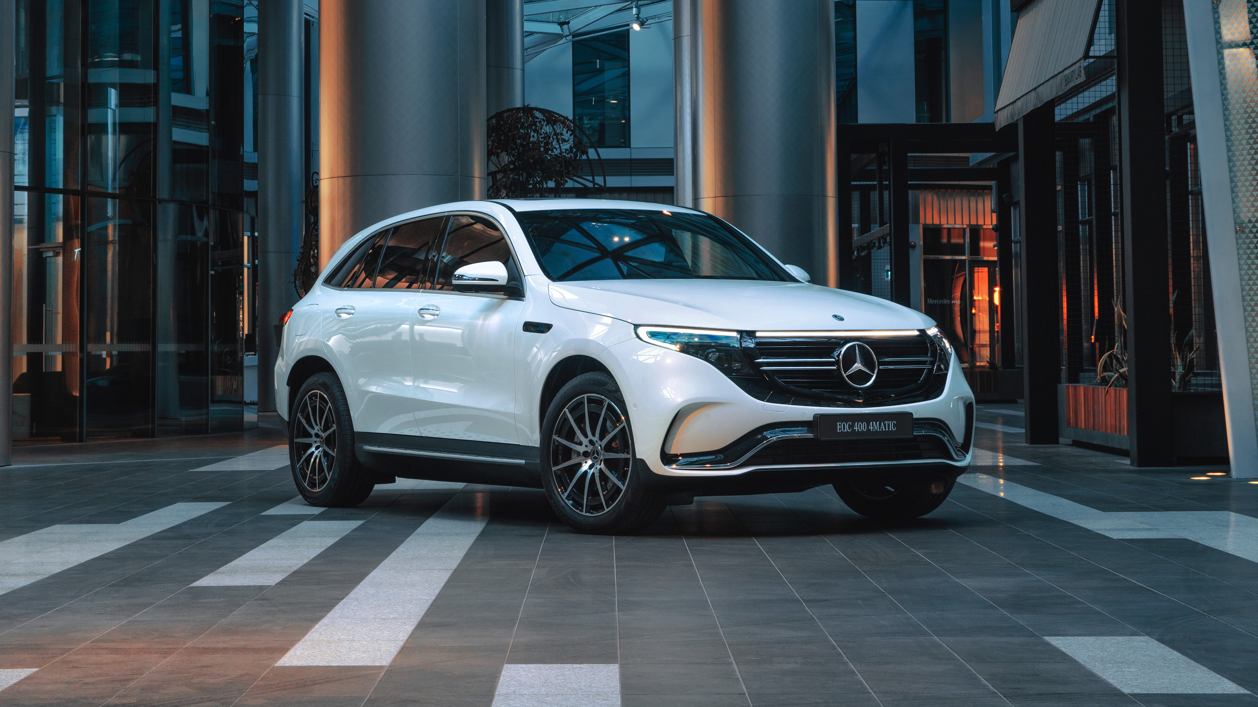Mercedes EQC-Class (N293) accessories restyling