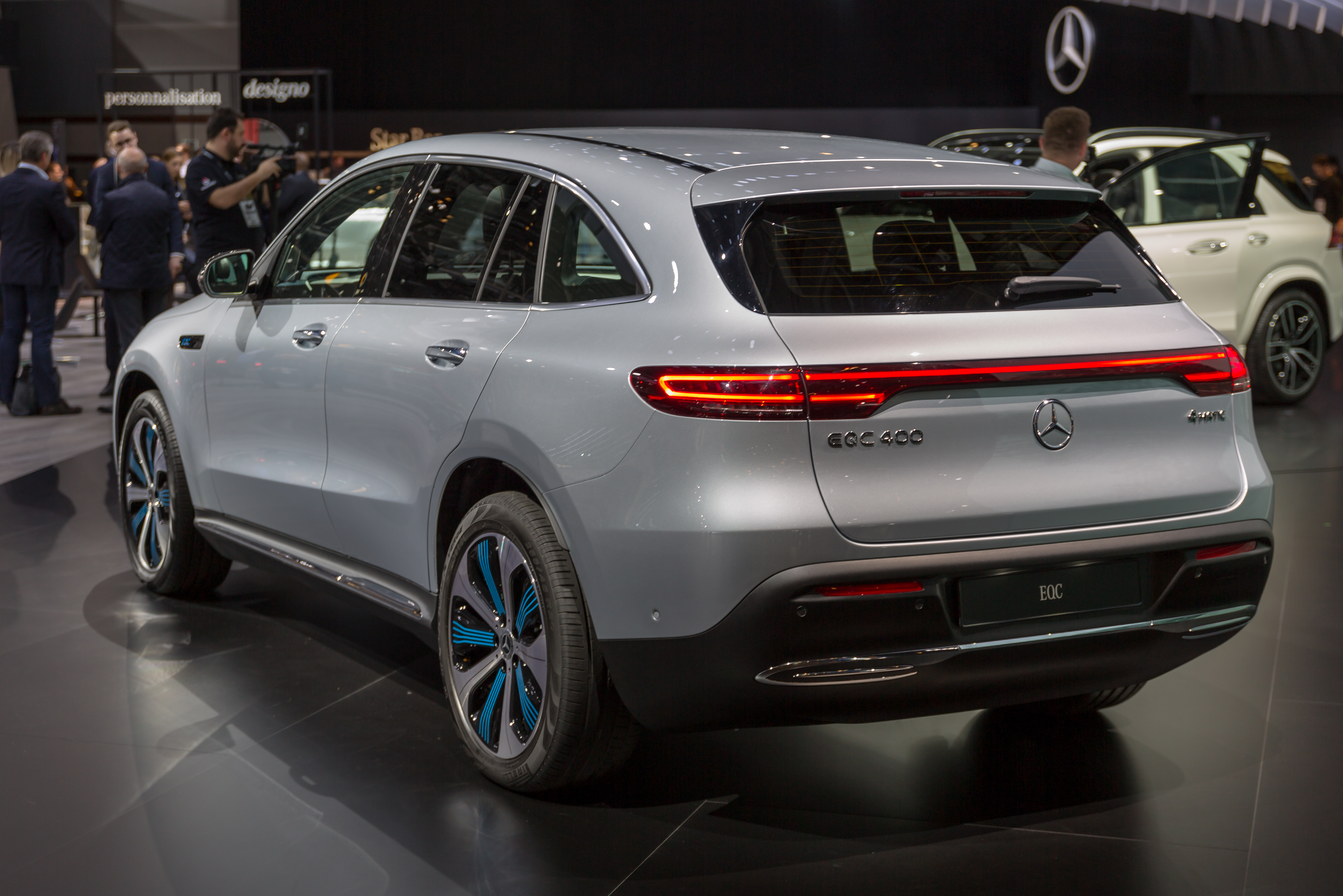 Mercedes EQC-Class (N293) 4k restyling