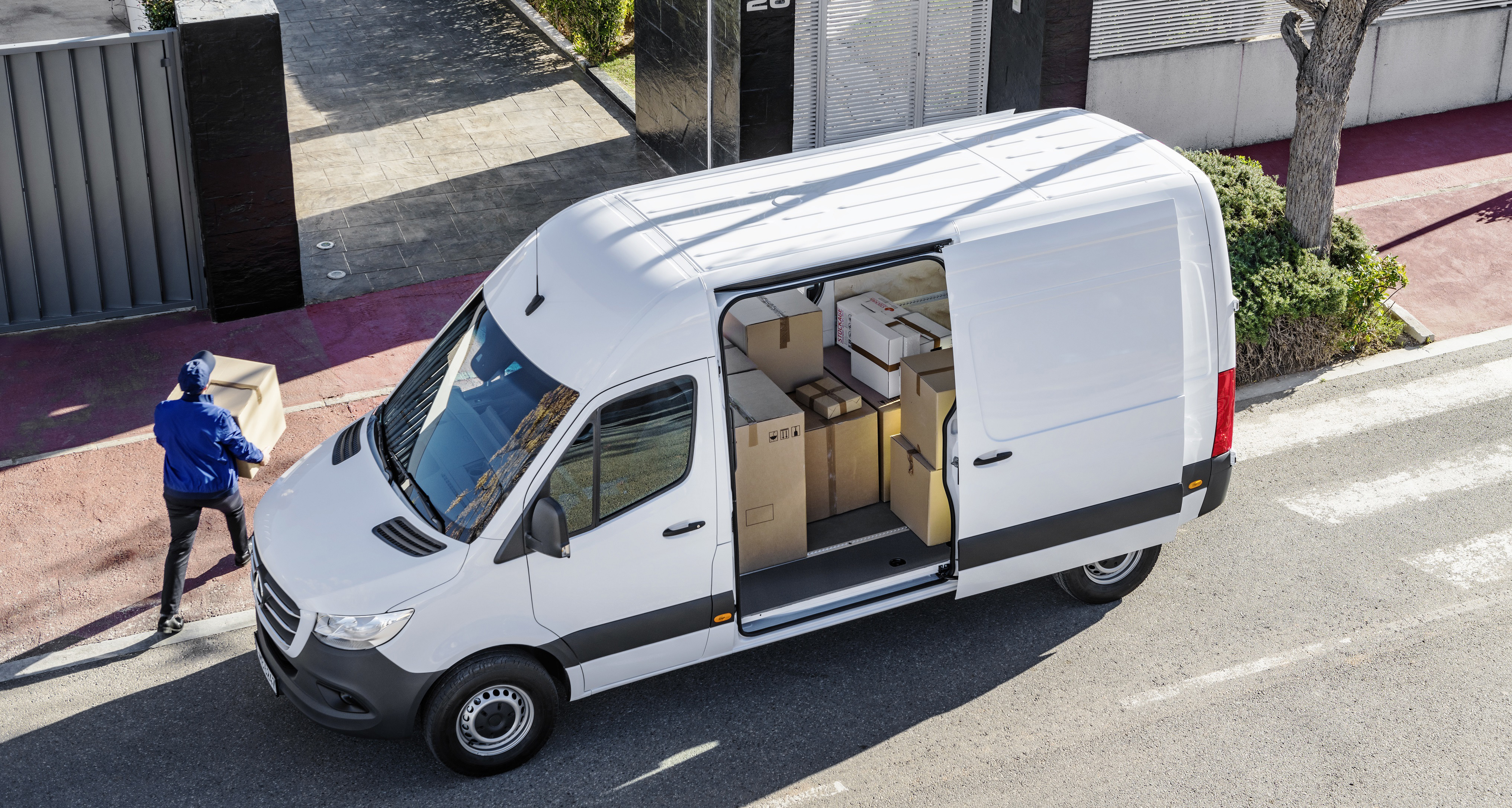 Mercedes Sprinter Kastenwagen (W907) exterior specifications