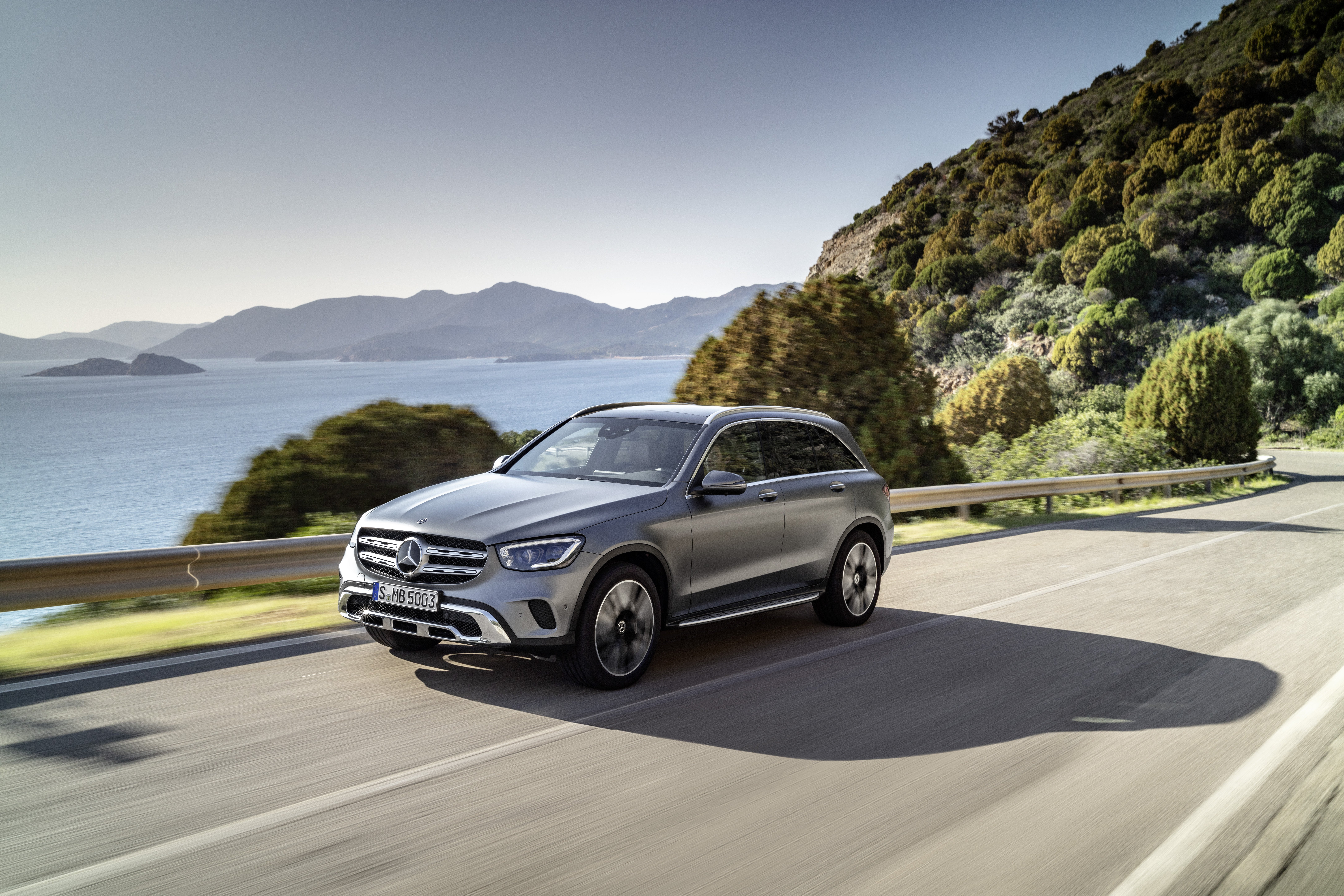 Mercedes GLC-Class Coupe (X253) accessories 2019