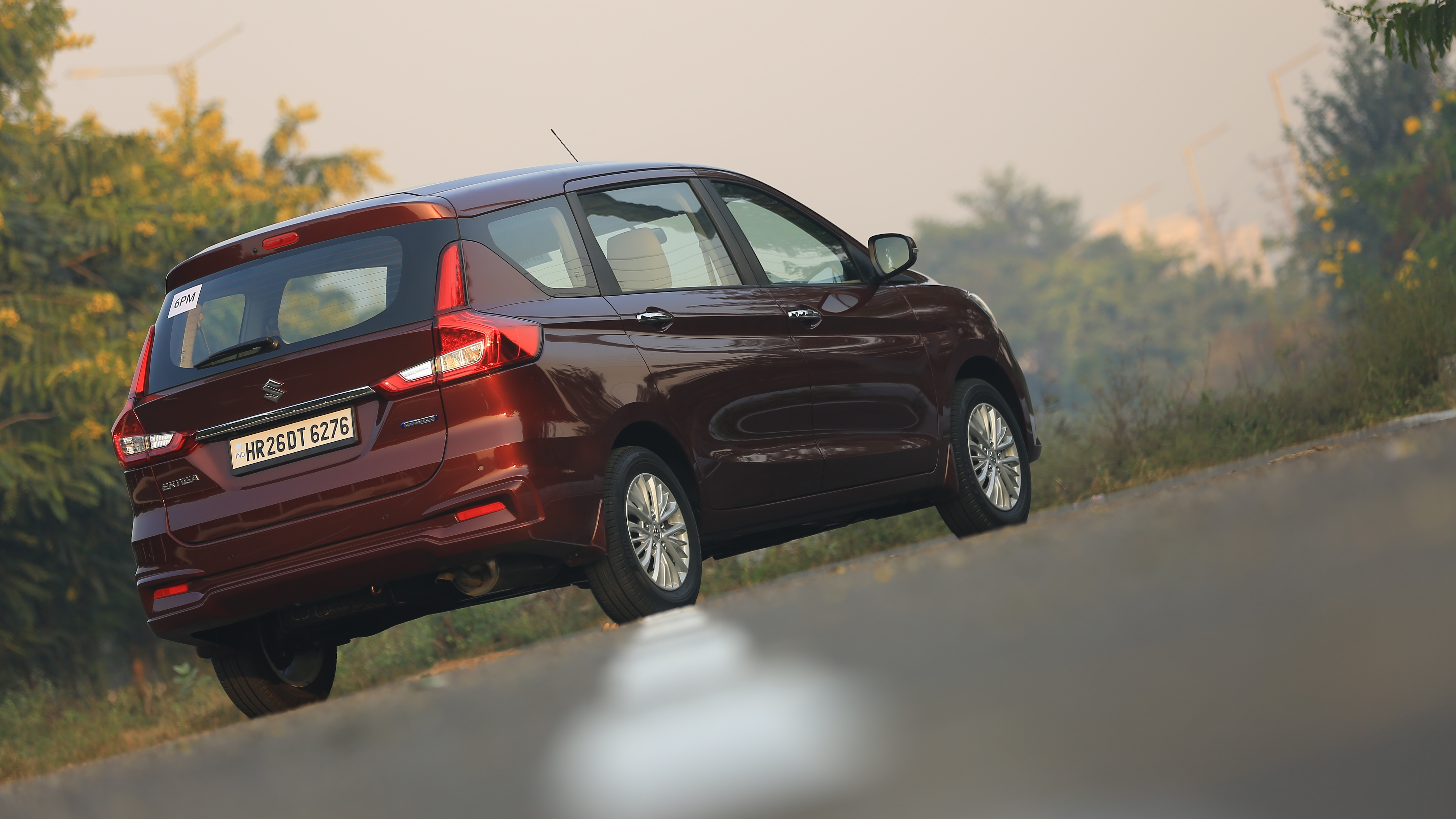 Suzuki Ertiga reviews restyling
