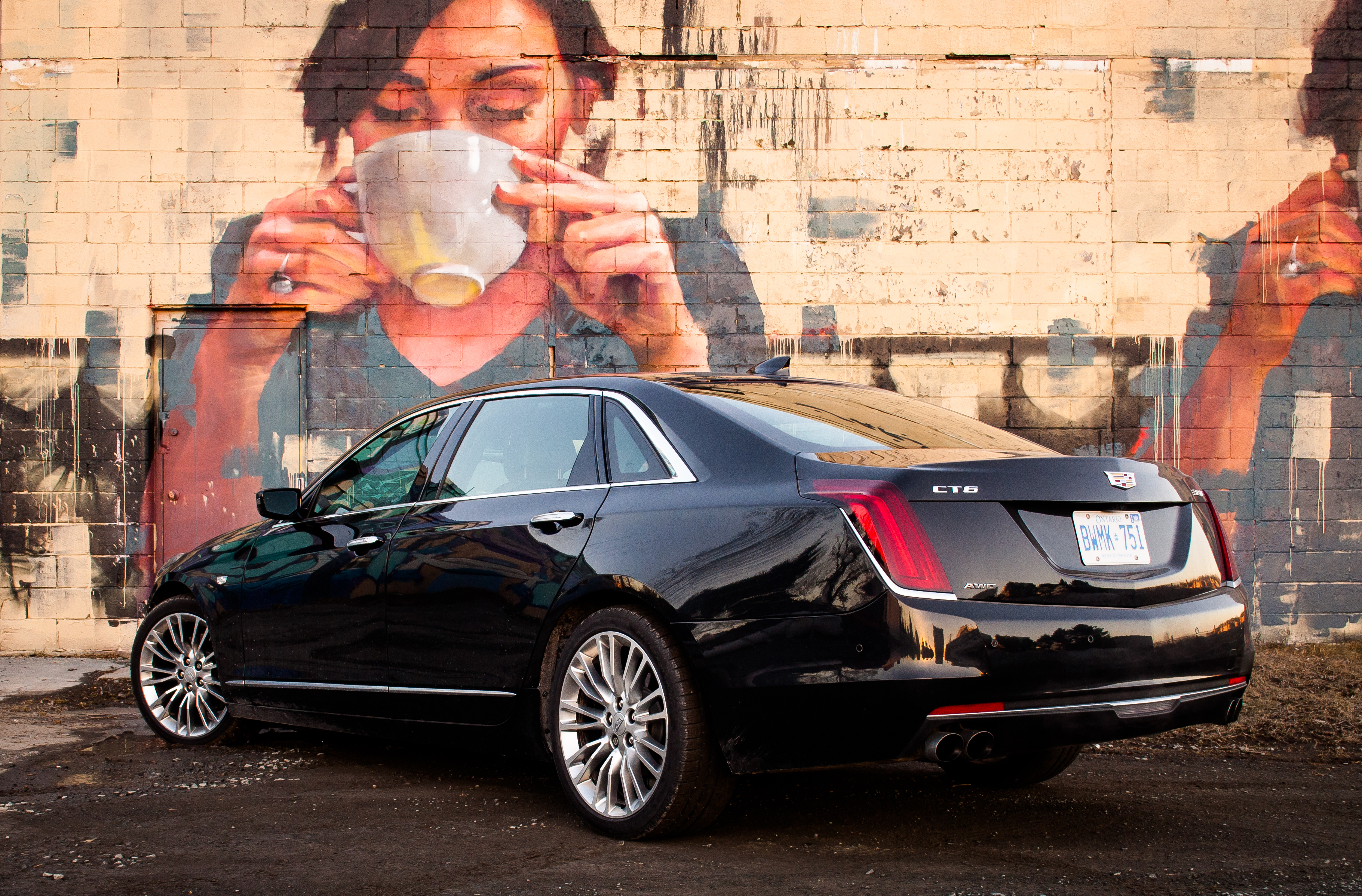 Cadillac CT6 hd restyling