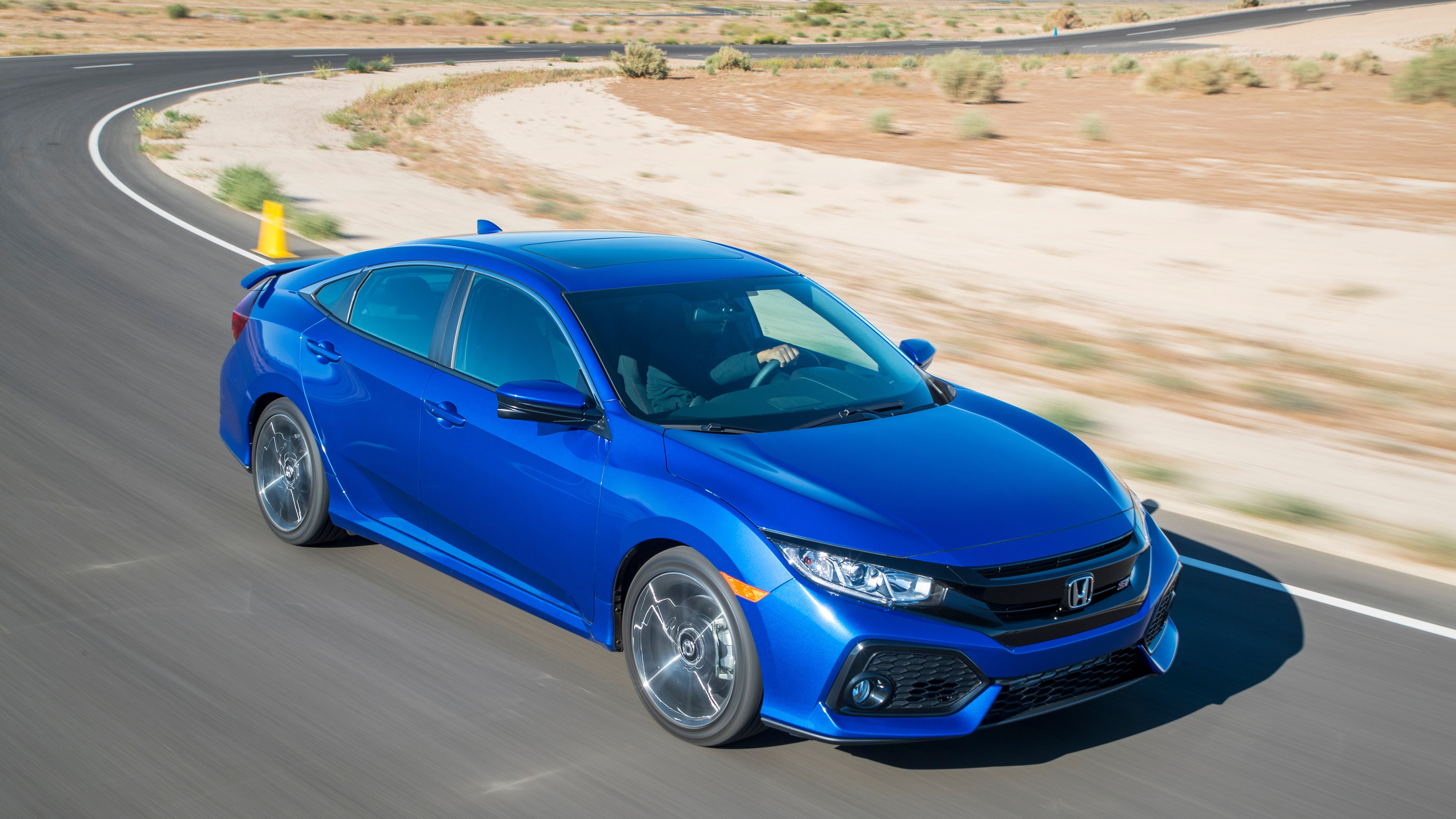 Honda Civic Sedan 4k 2018