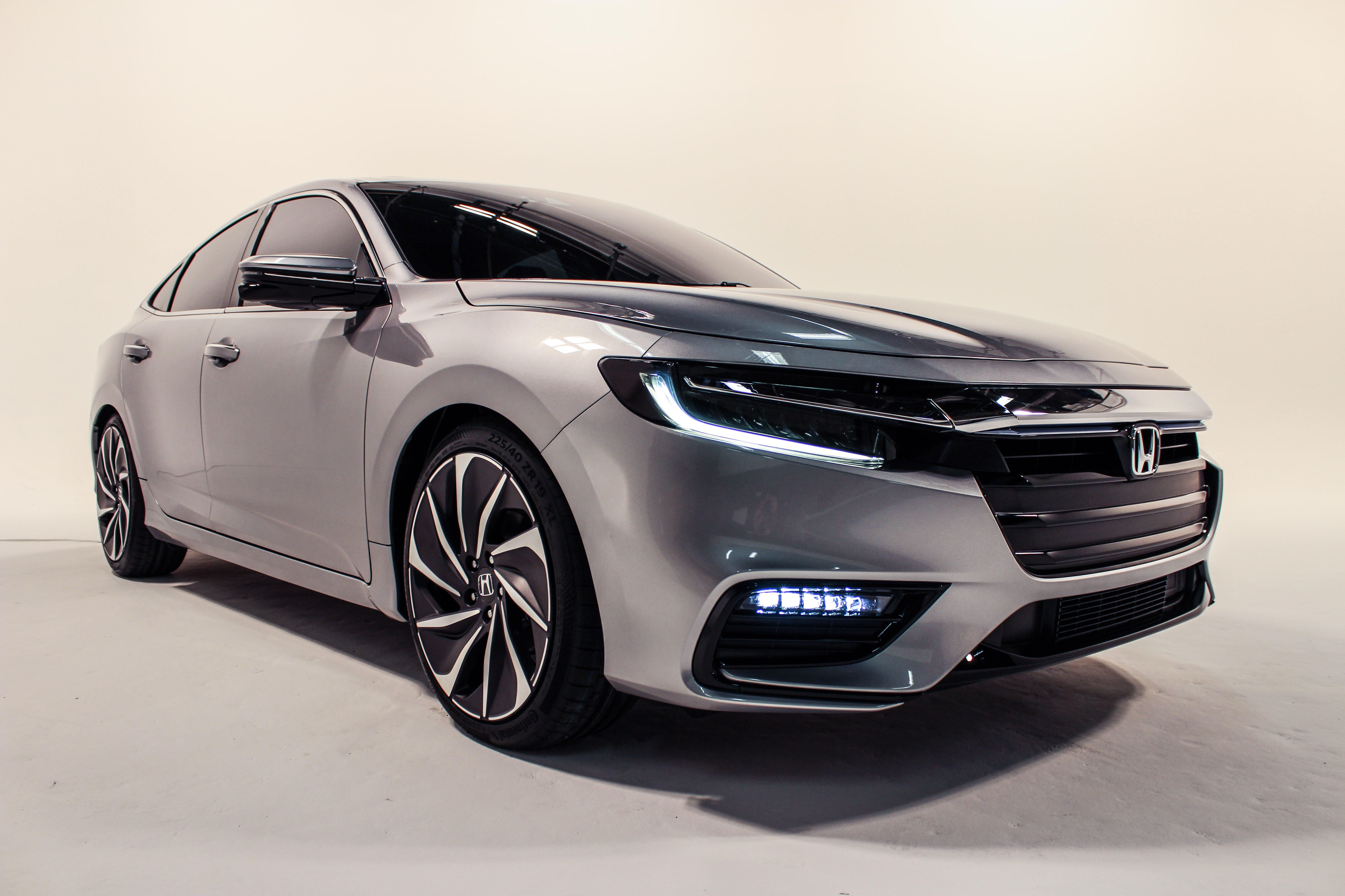 Honda Insight exterior restyling