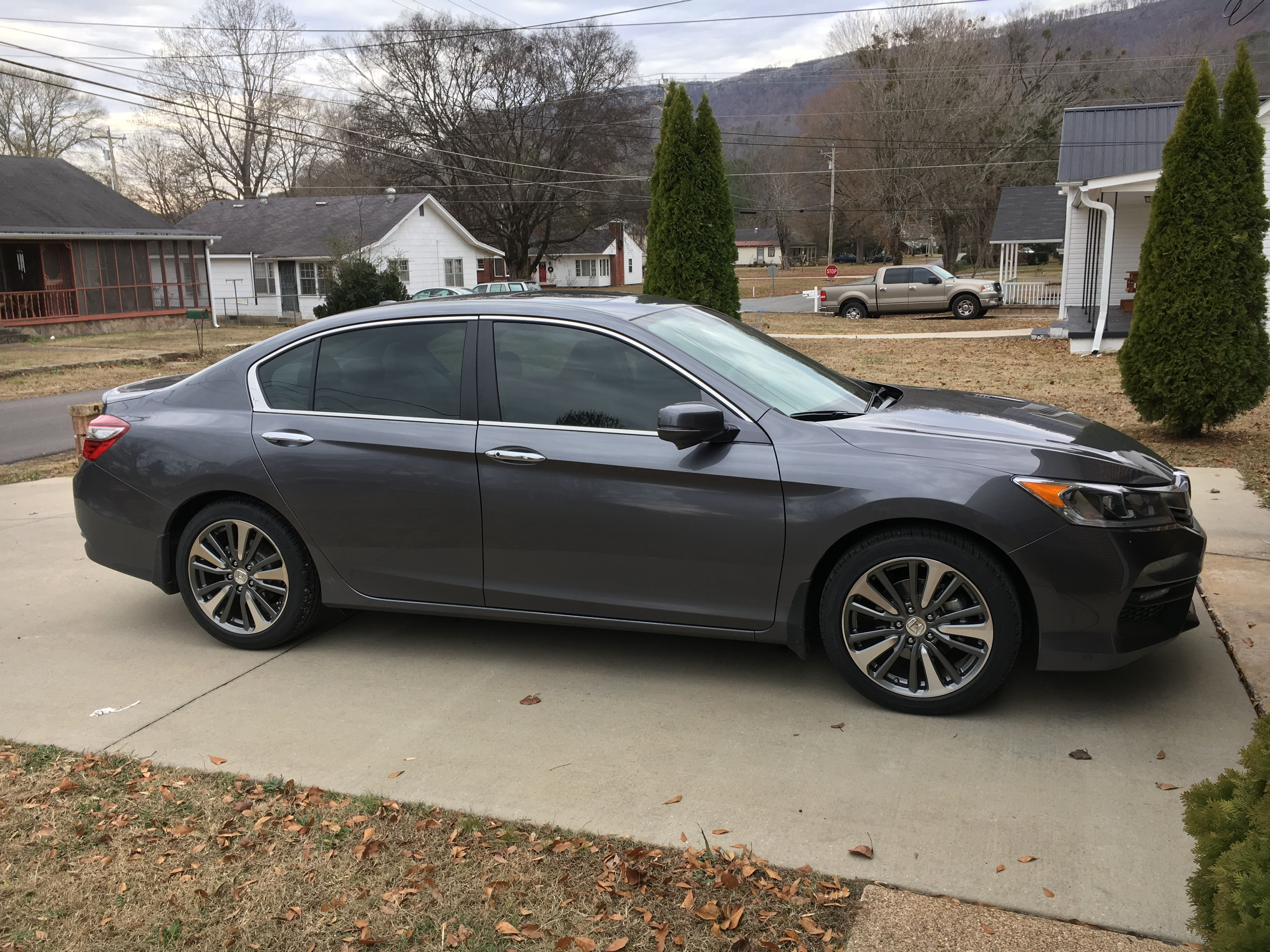 Honda Accord Sedan exterior specifications