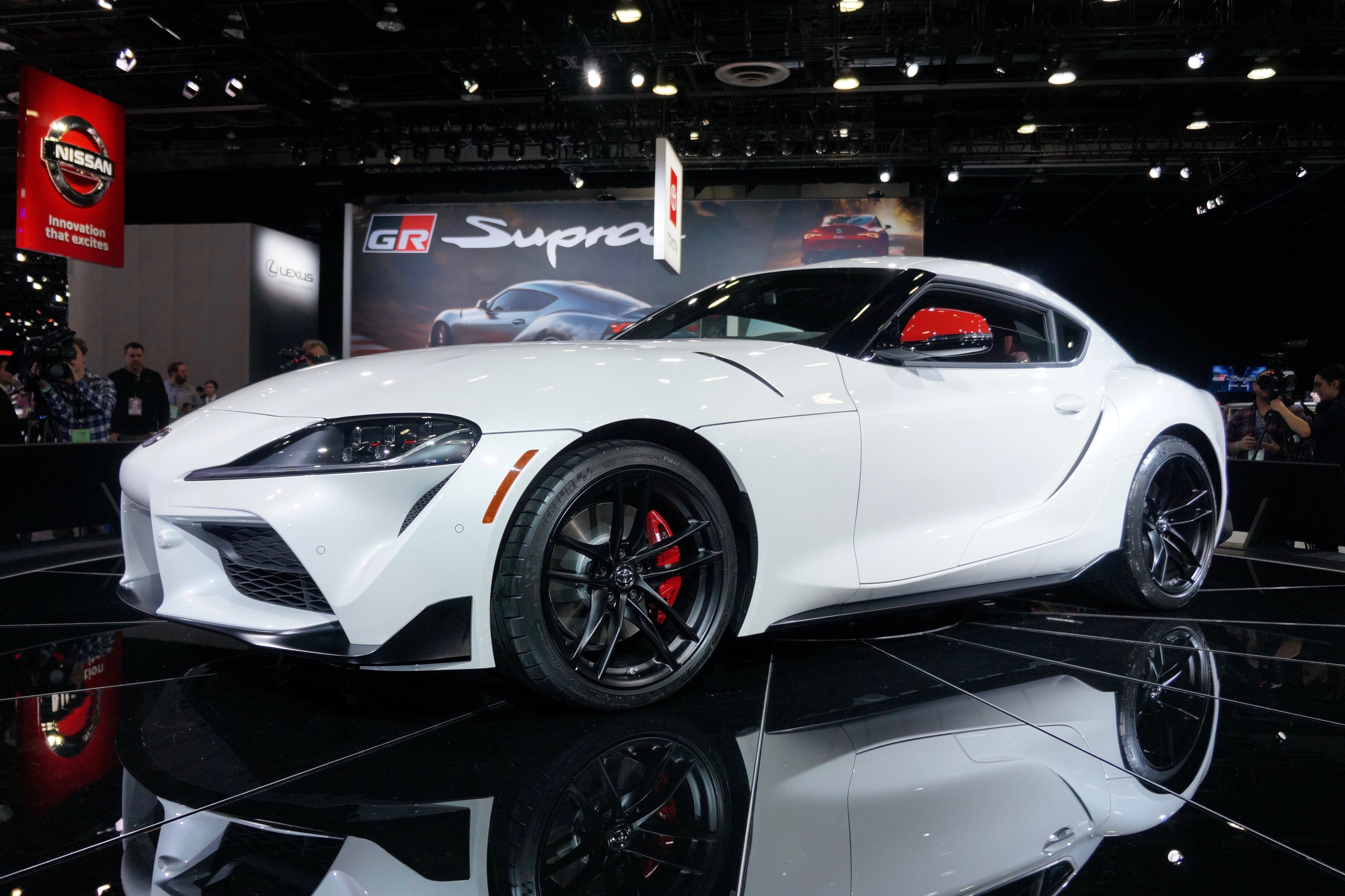 Toyota GR Supra 4k photo