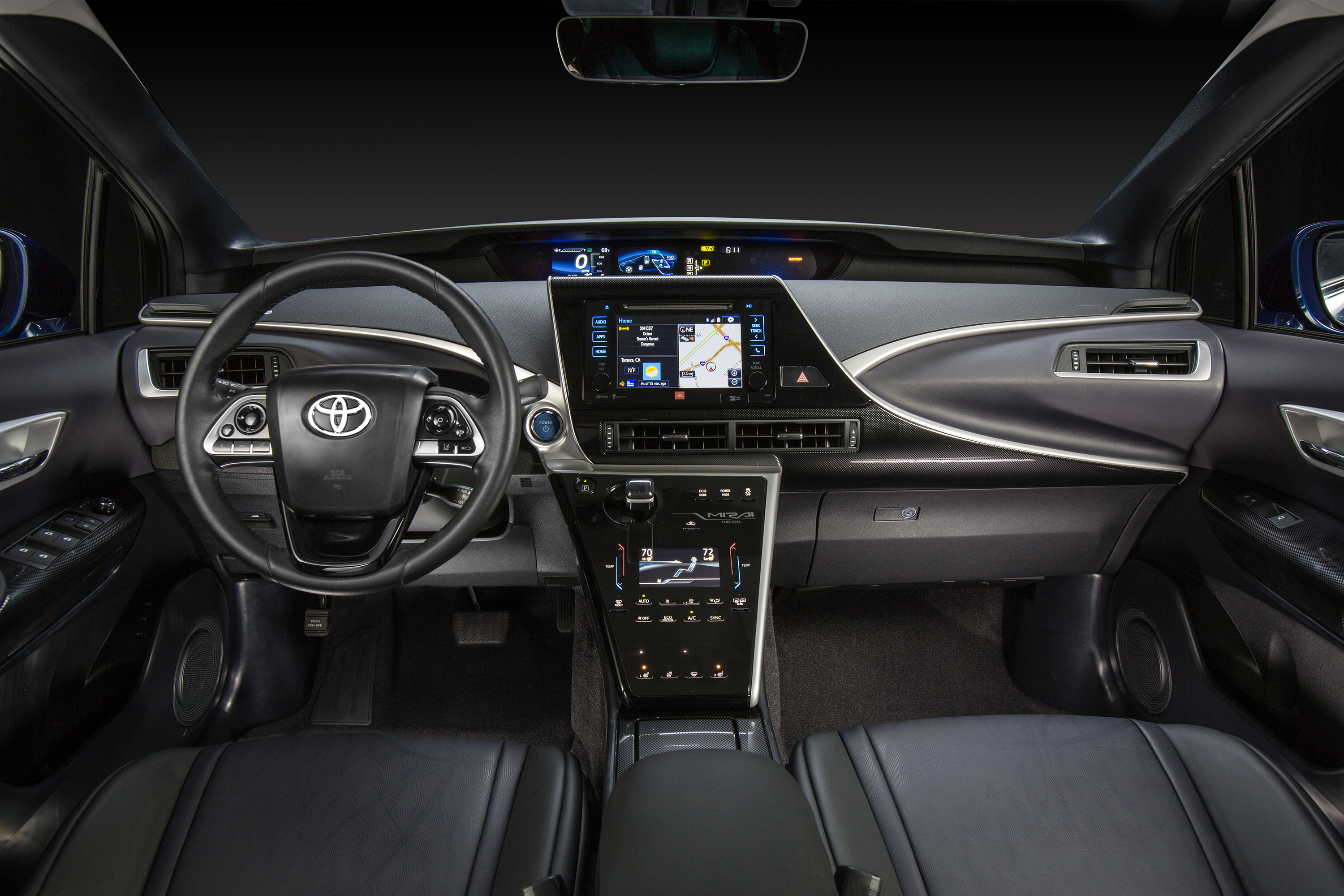 Toyota Mirai modern specifications