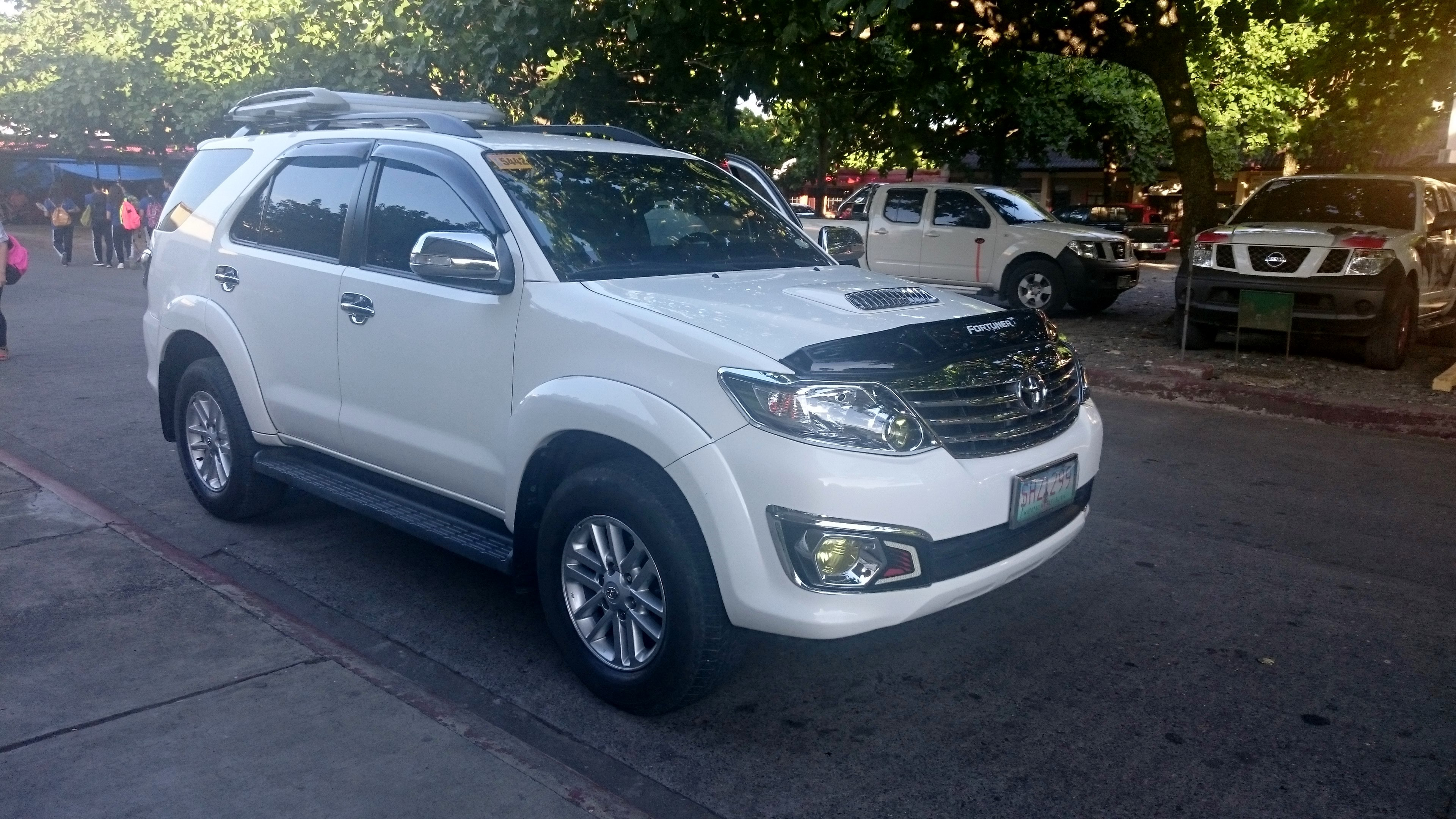 Toyota Fortuner modern specifications