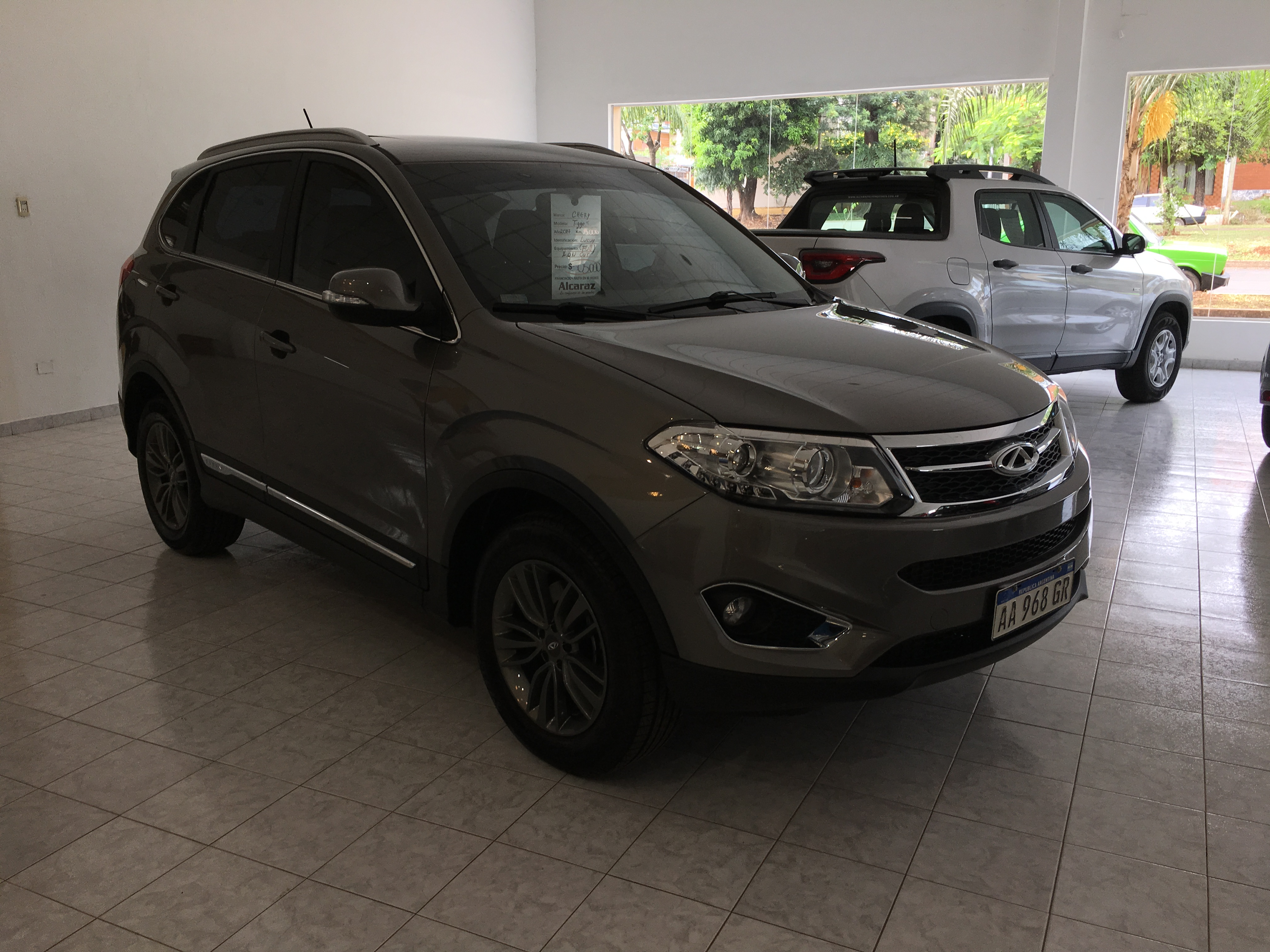 Chery Tiggo 3 interior specifications