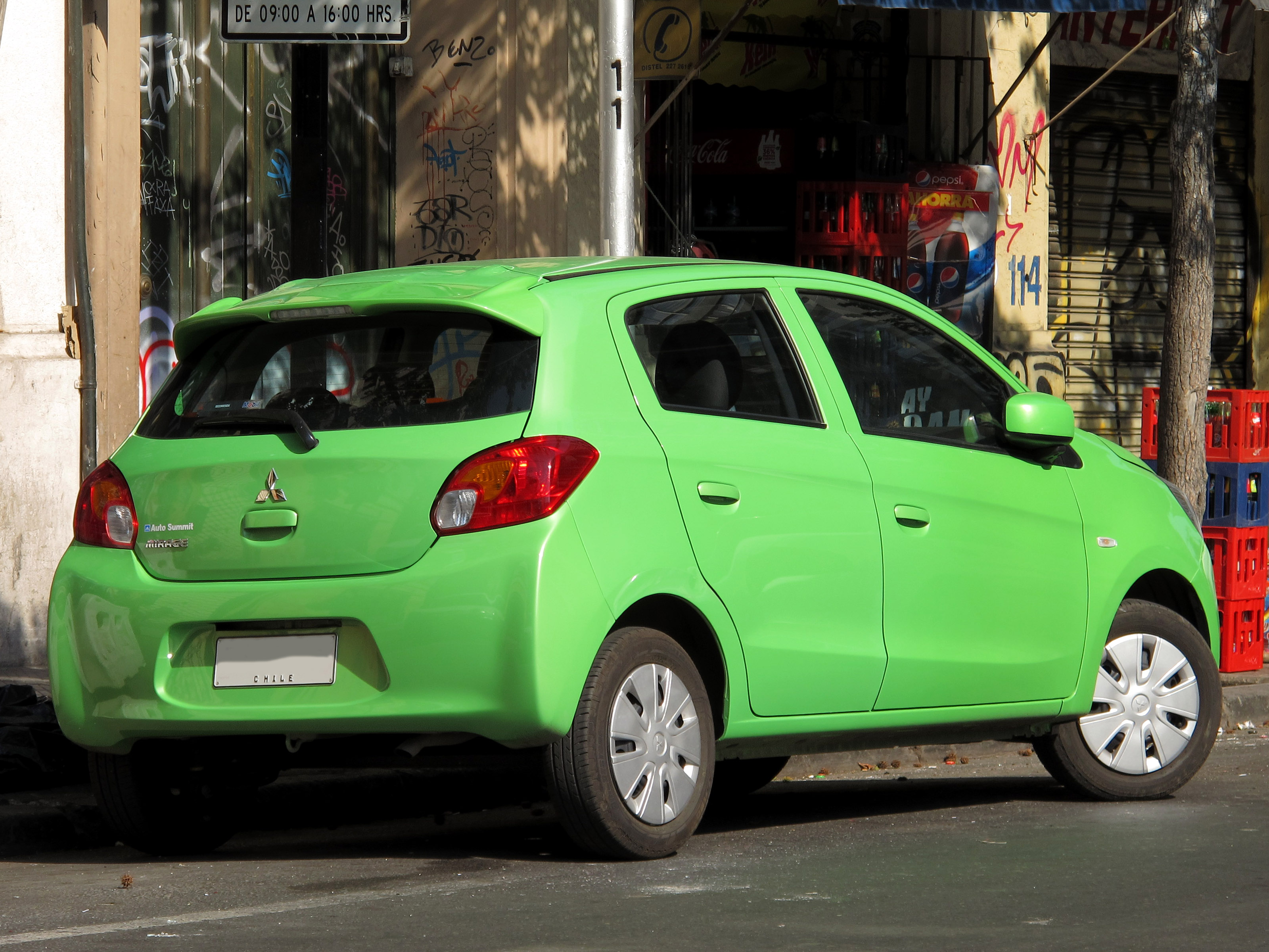 Mitsubishi Mirage reviews specifications