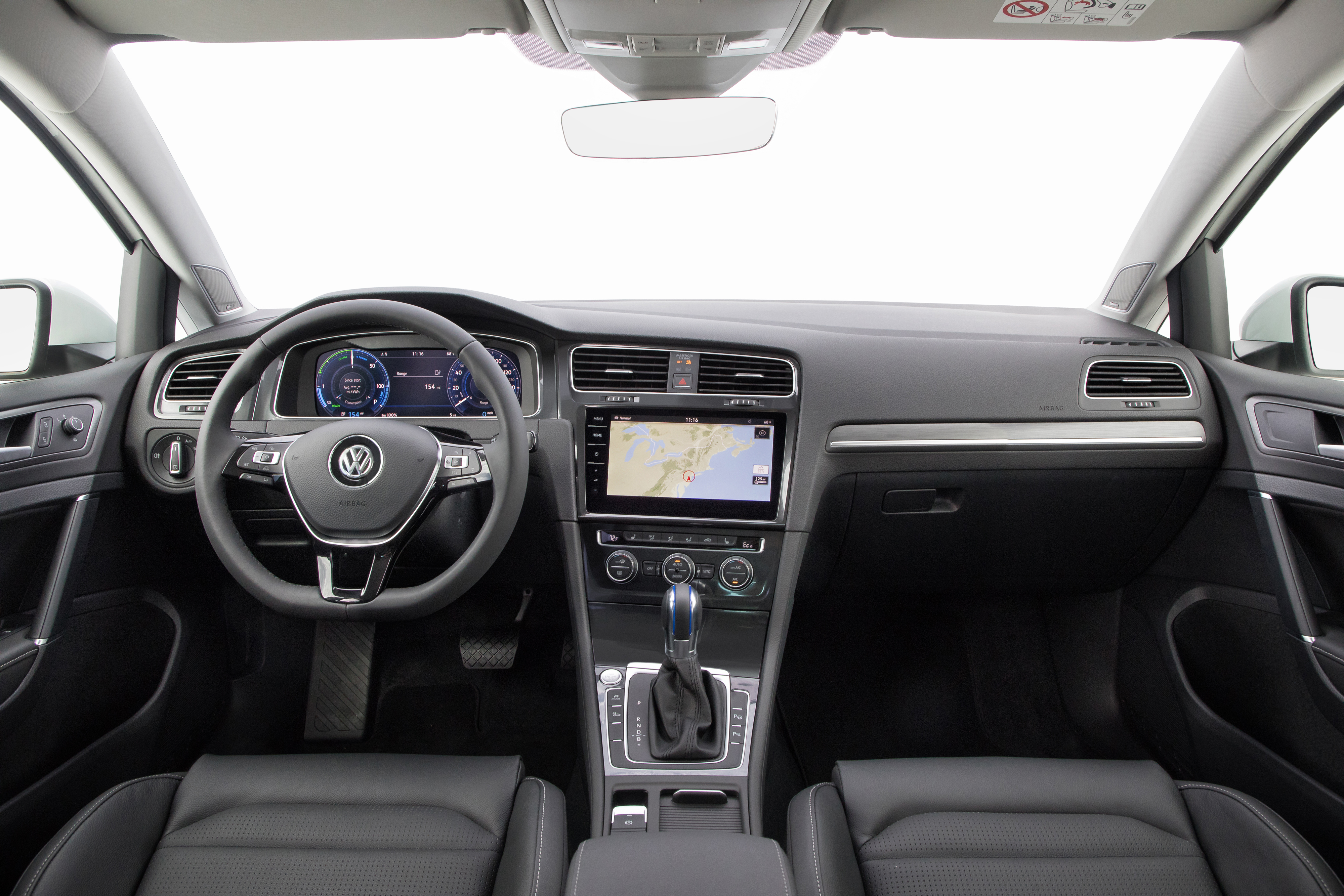Volkswagen e-Golf accessories specifications