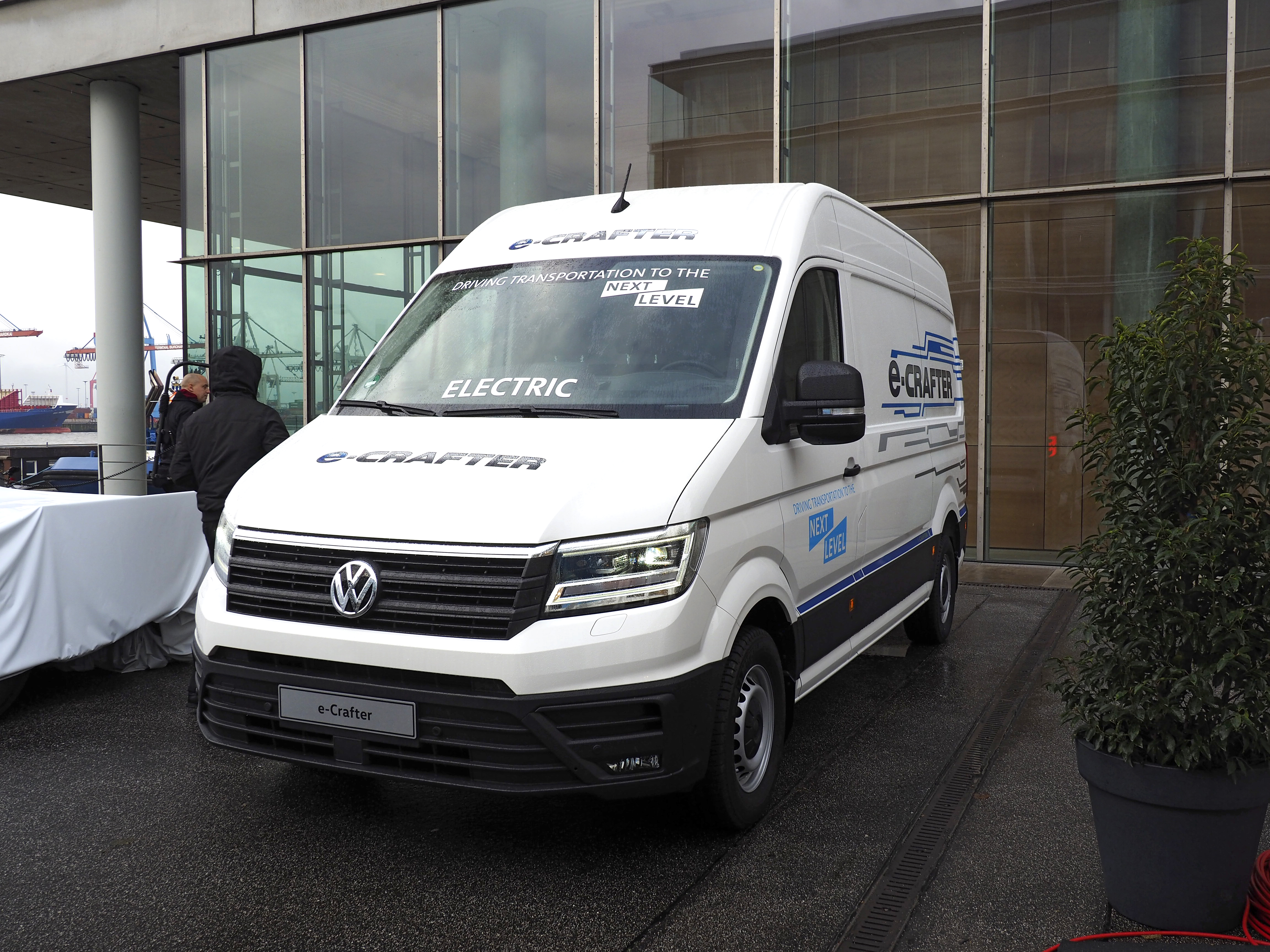 Volkswagen Crafter Kasten hd big